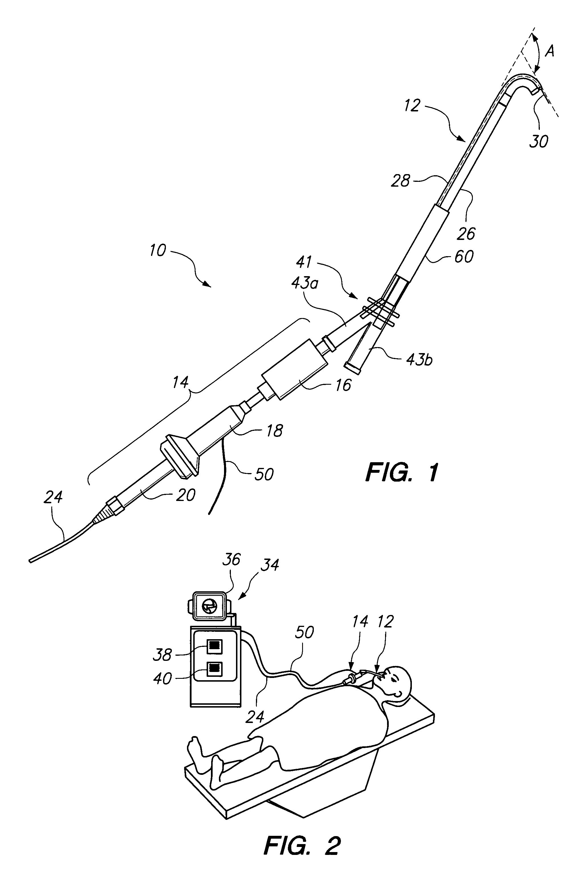 Patent Us8146400 Endoscopic Methods And Devices For Transnasal Gilson Bros Wiring Diagram Drawing