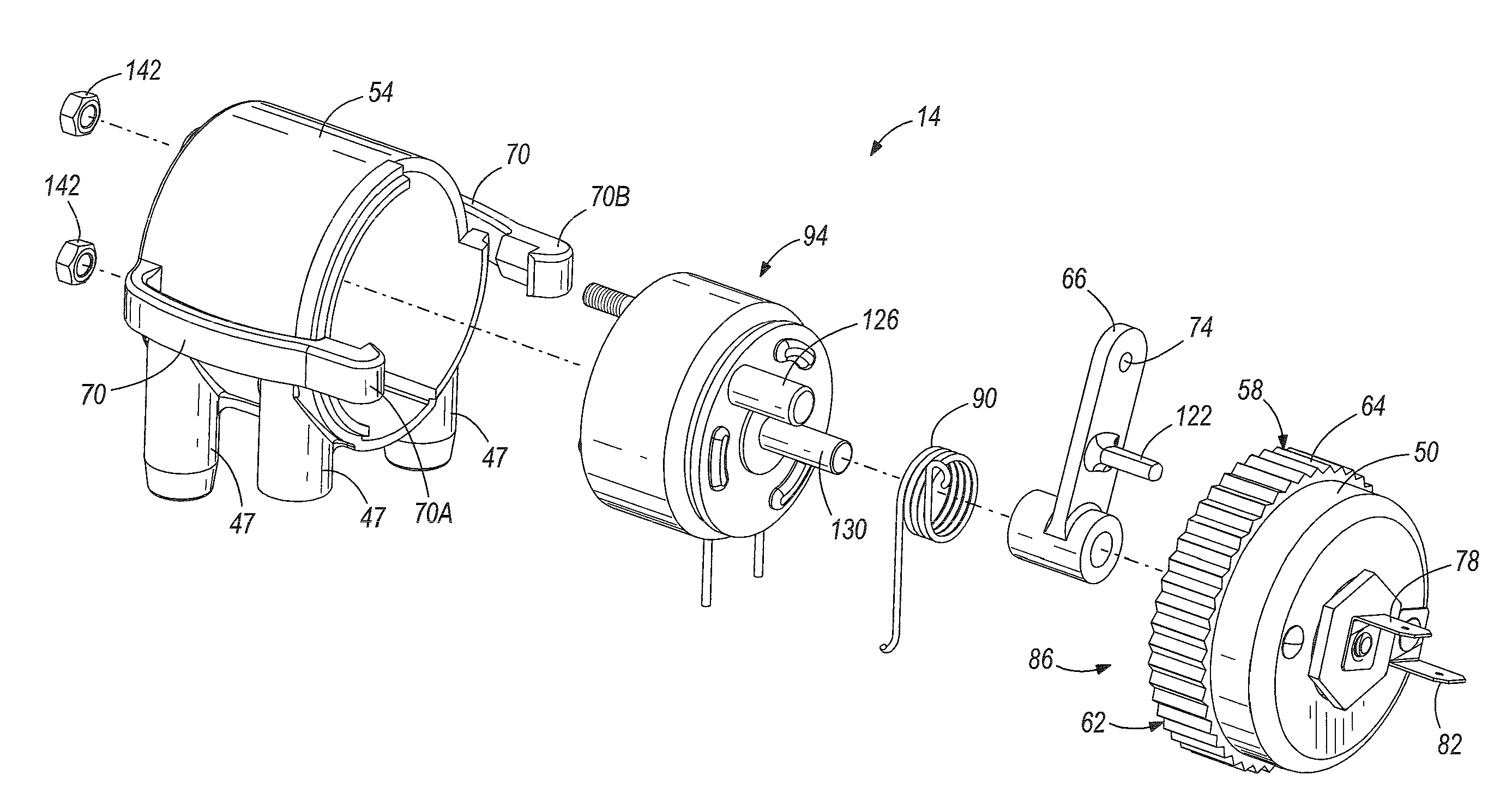 patent us8146558 - automatic choke for an engine