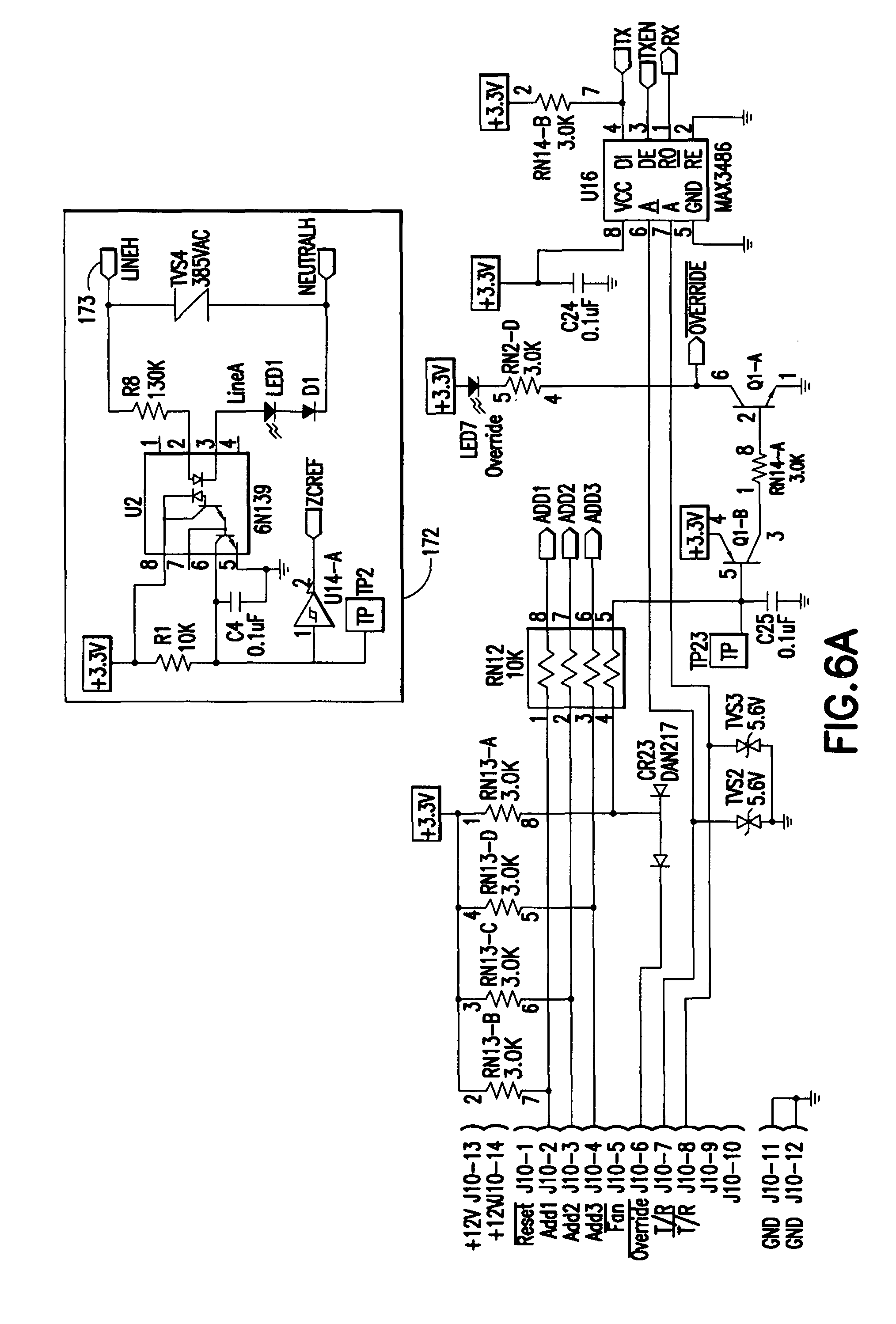 patent us8154841 - current zero cross switching relay module using a voltage monitor