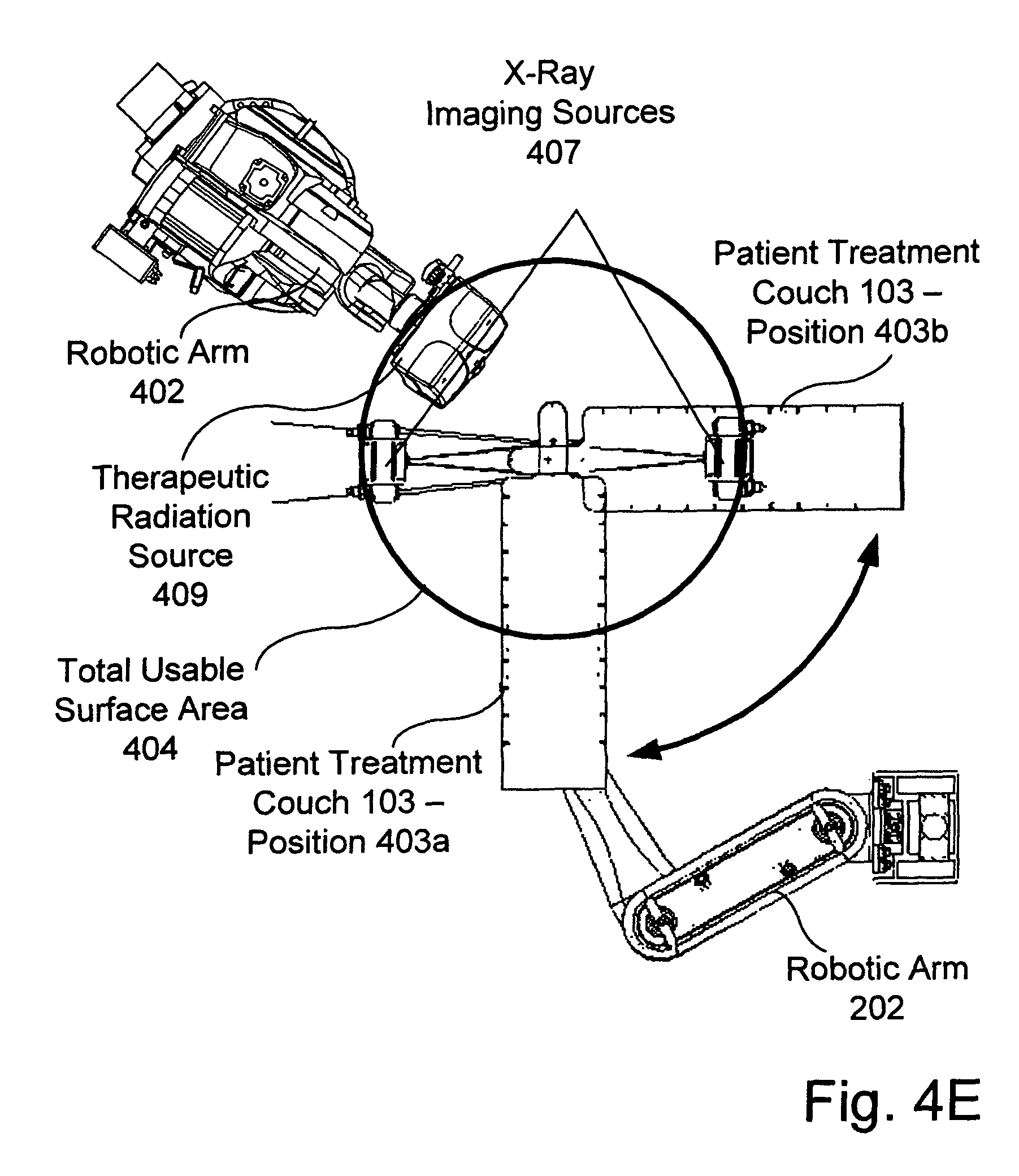 patent us8160205 - robotic arm for patient positioning assembly