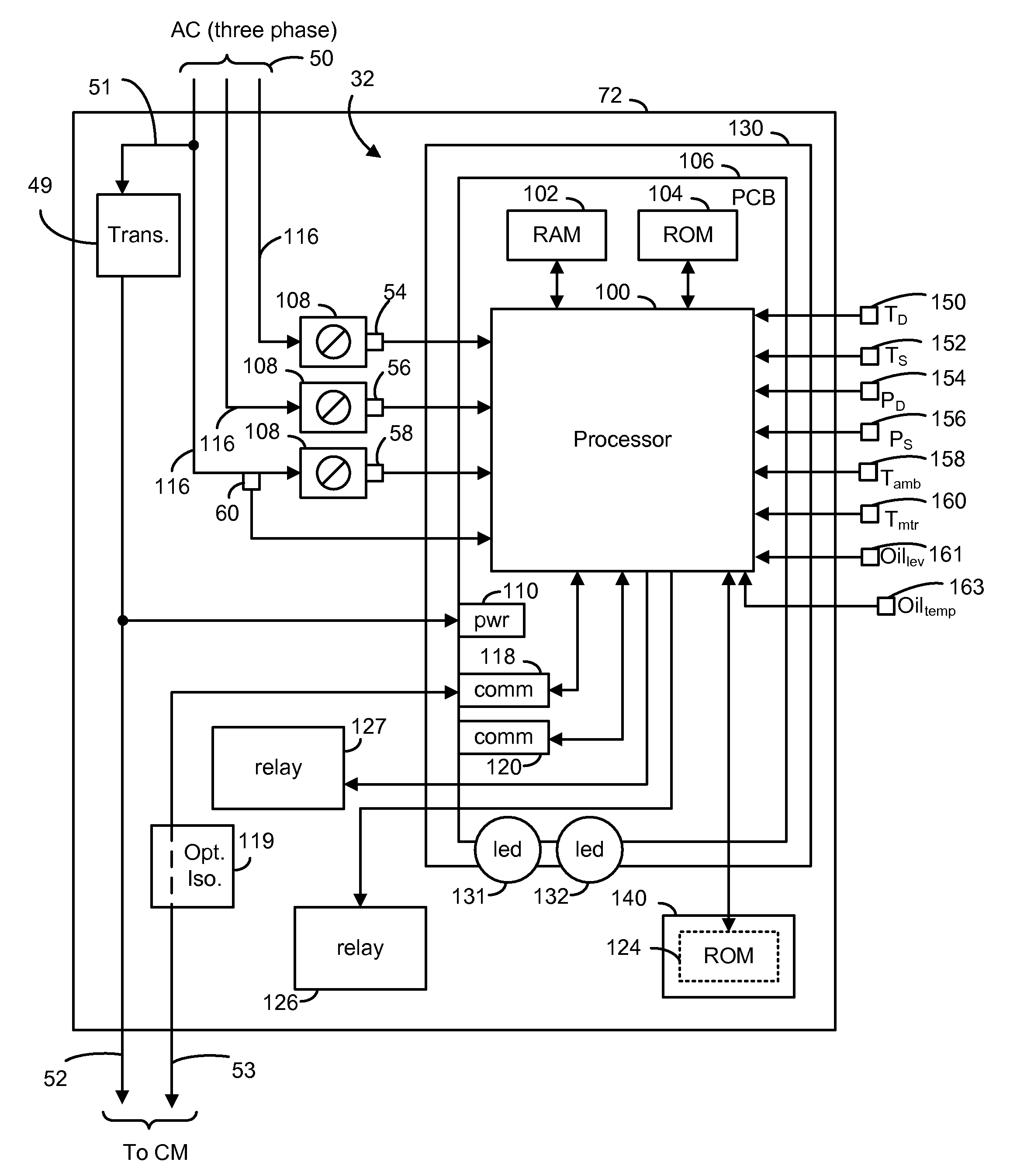 patent us8160827 compressor sensor module google patents patent drawing