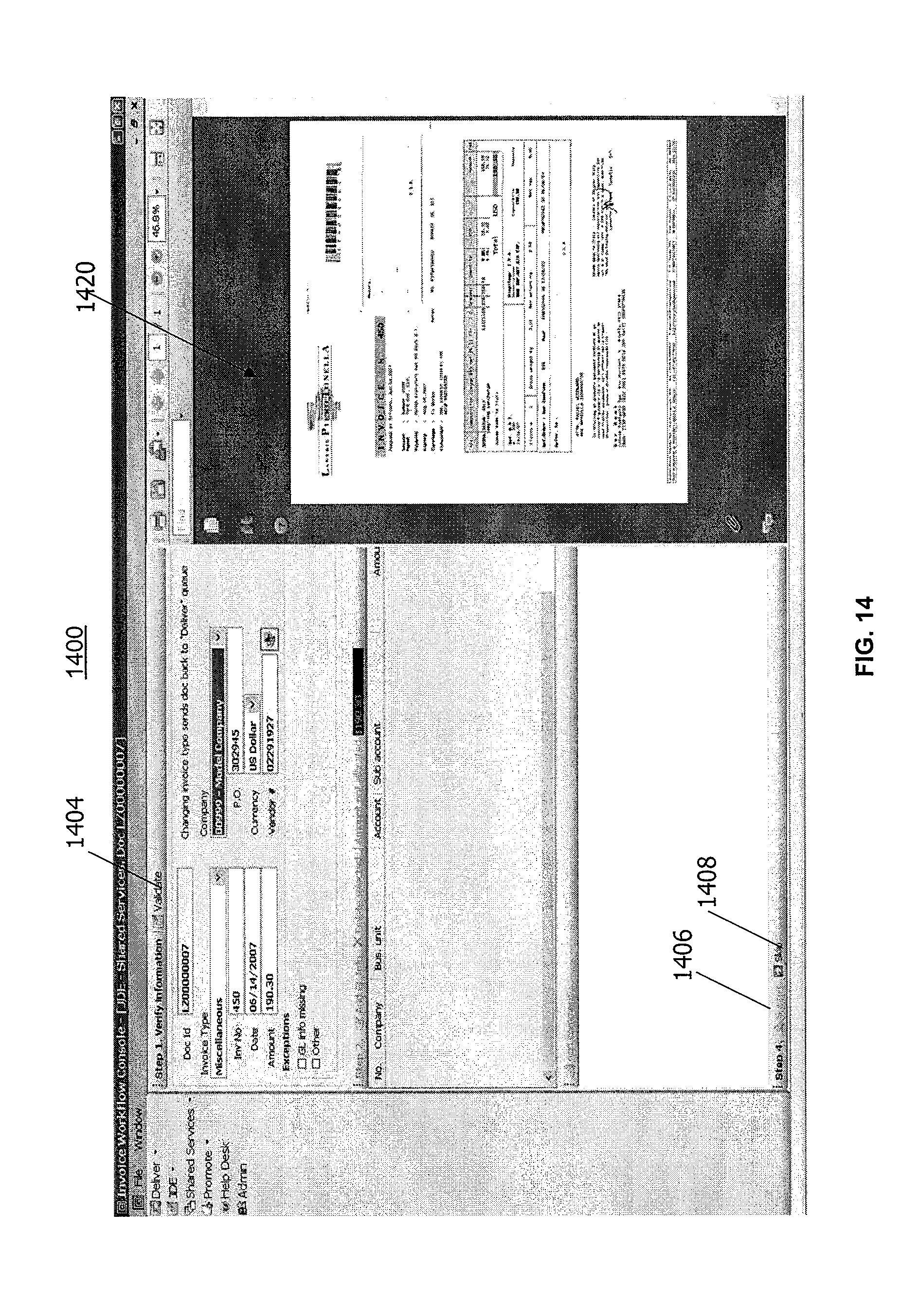 Invoice Price For Cars In Canada Excel Patent Us  Automated Invoice Processing Software And  Company Invoice Forms Word with Seneca College Tax Receipt Patent Drawing Invoice Template Download Excel