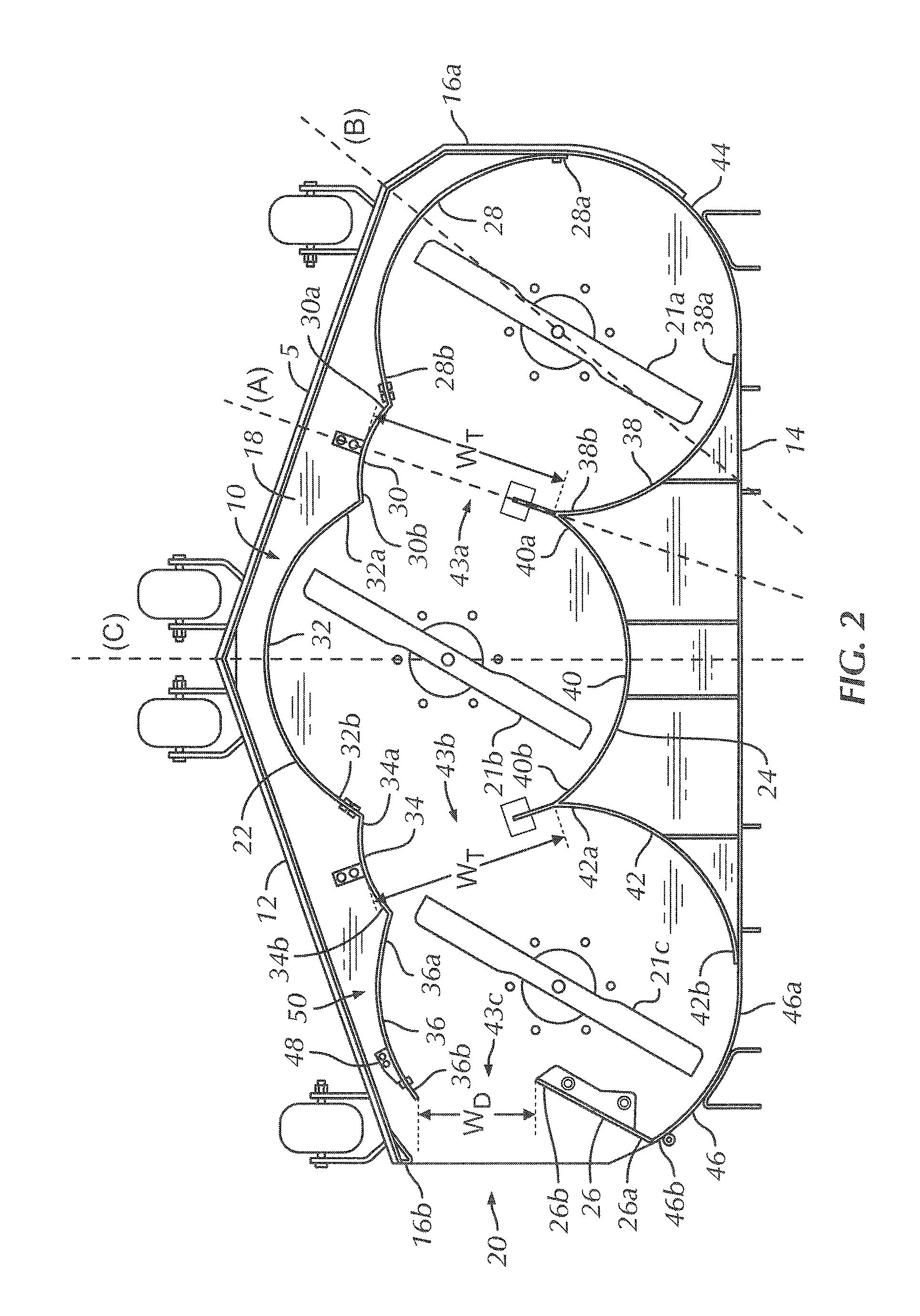 patent us8171709 - mower baffle system