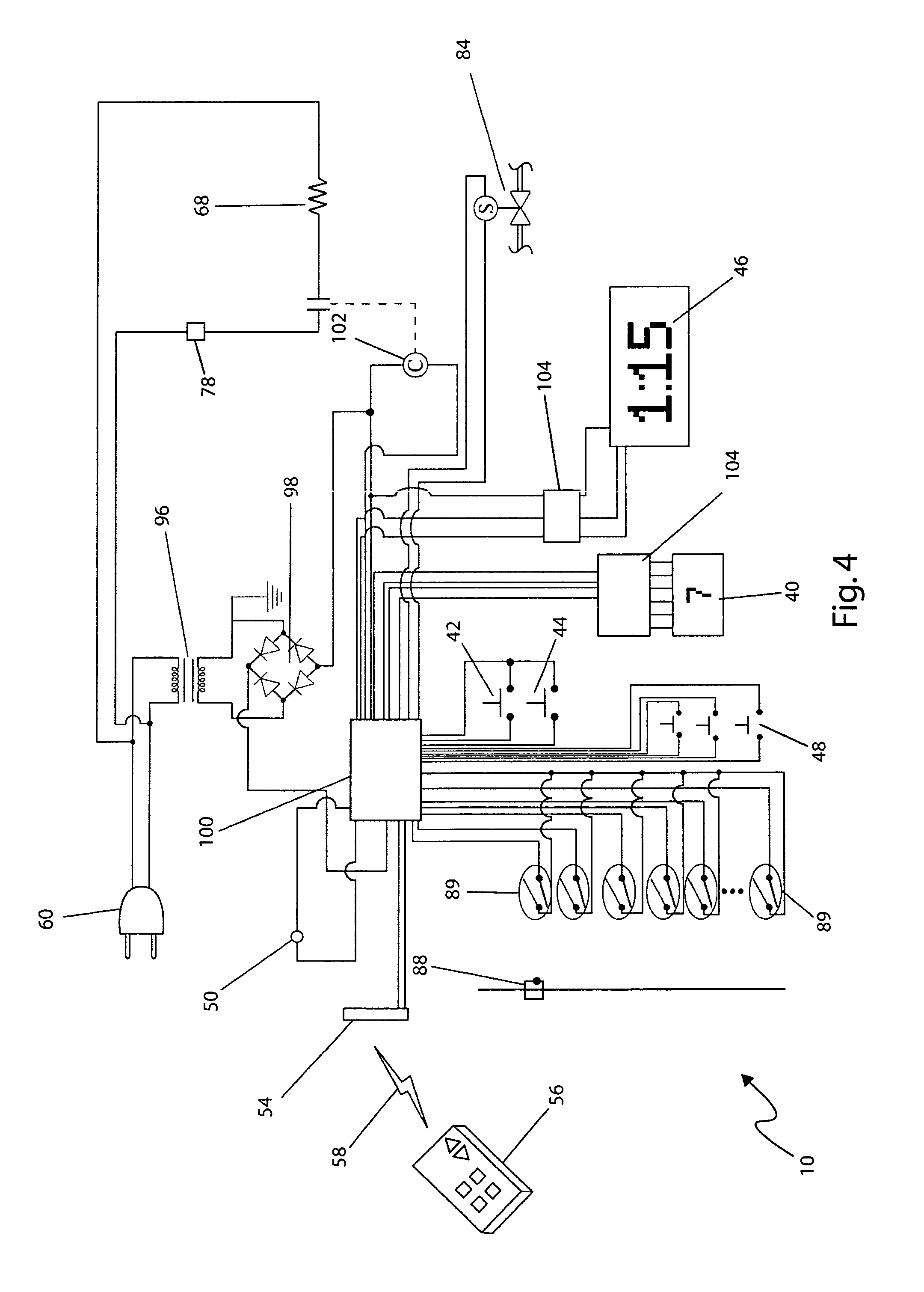 US08171843 20120508 D00004 patent us8171843 coffee maker with automatic metered filling hot water urn wiring diagram at n-0.co