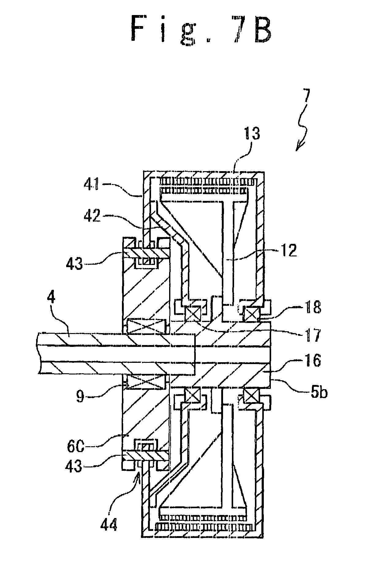 patent us8178988 - direct-drive wind turbine generator and bearing structure