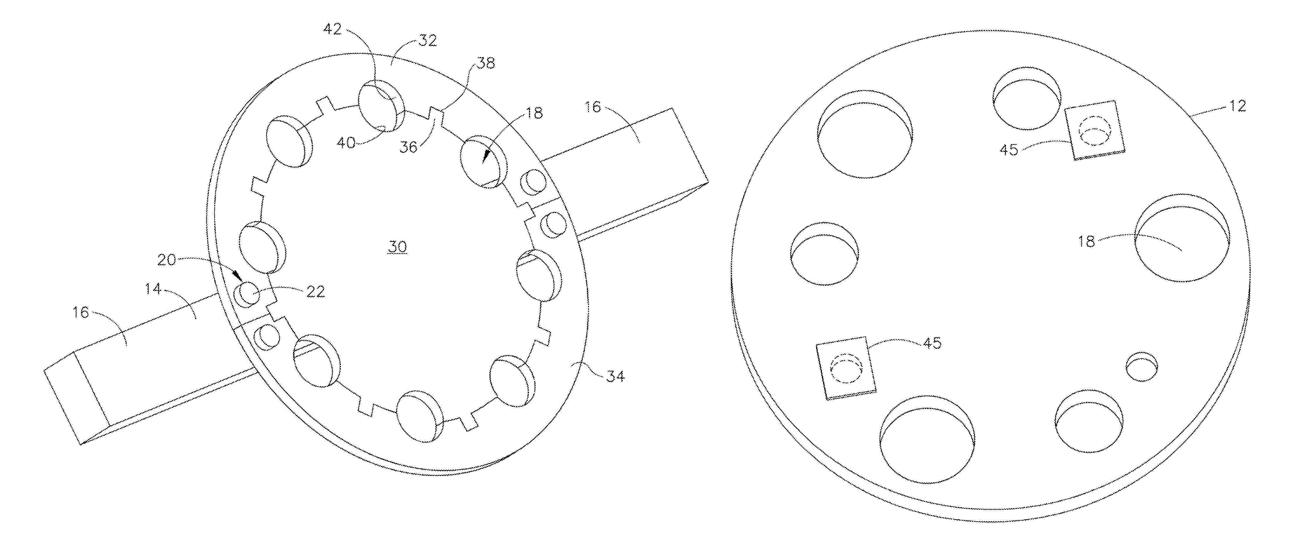 patent us8181674 - wire bundle twister and comber
