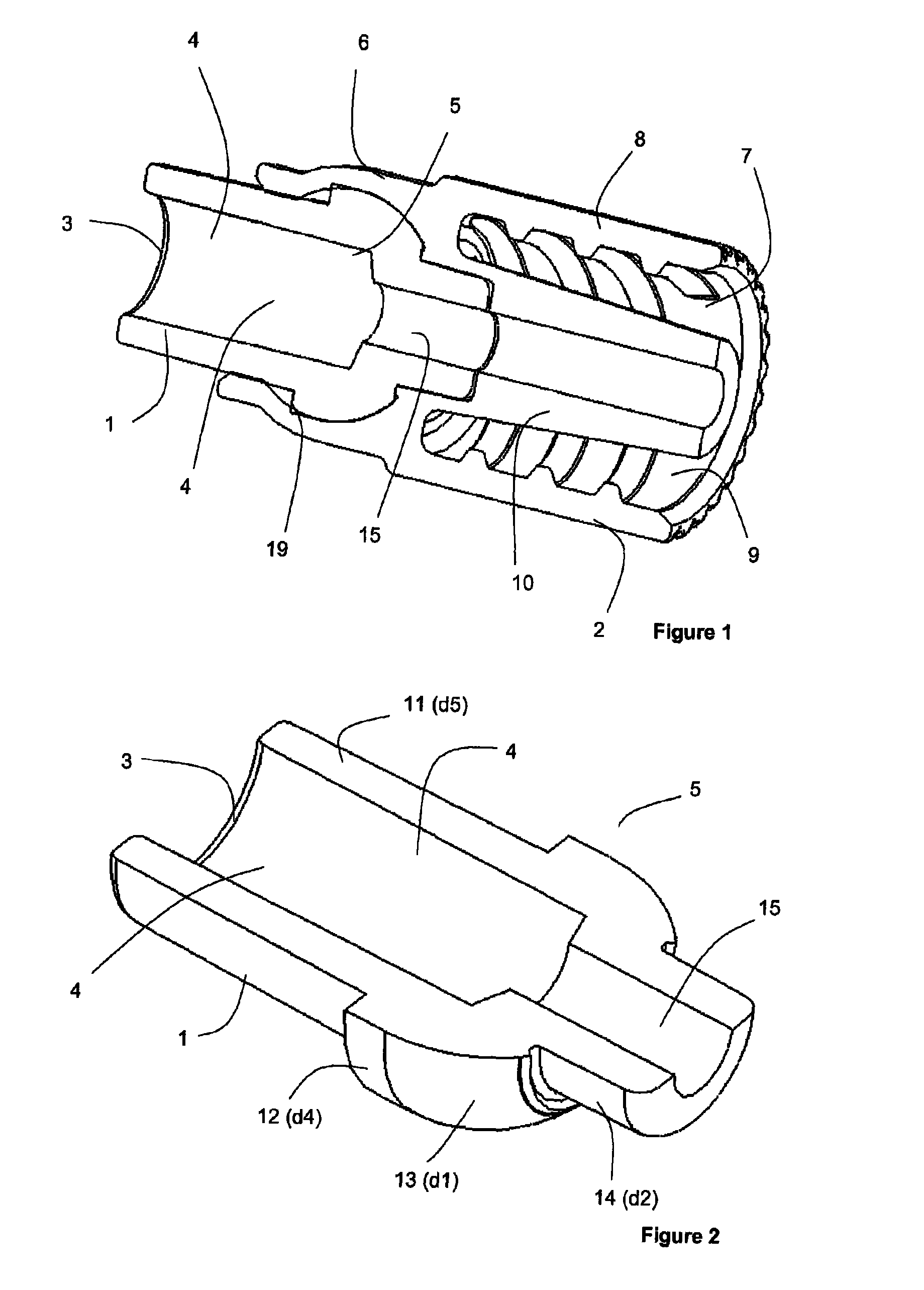 patent us8192421 male luer lock connector google patents