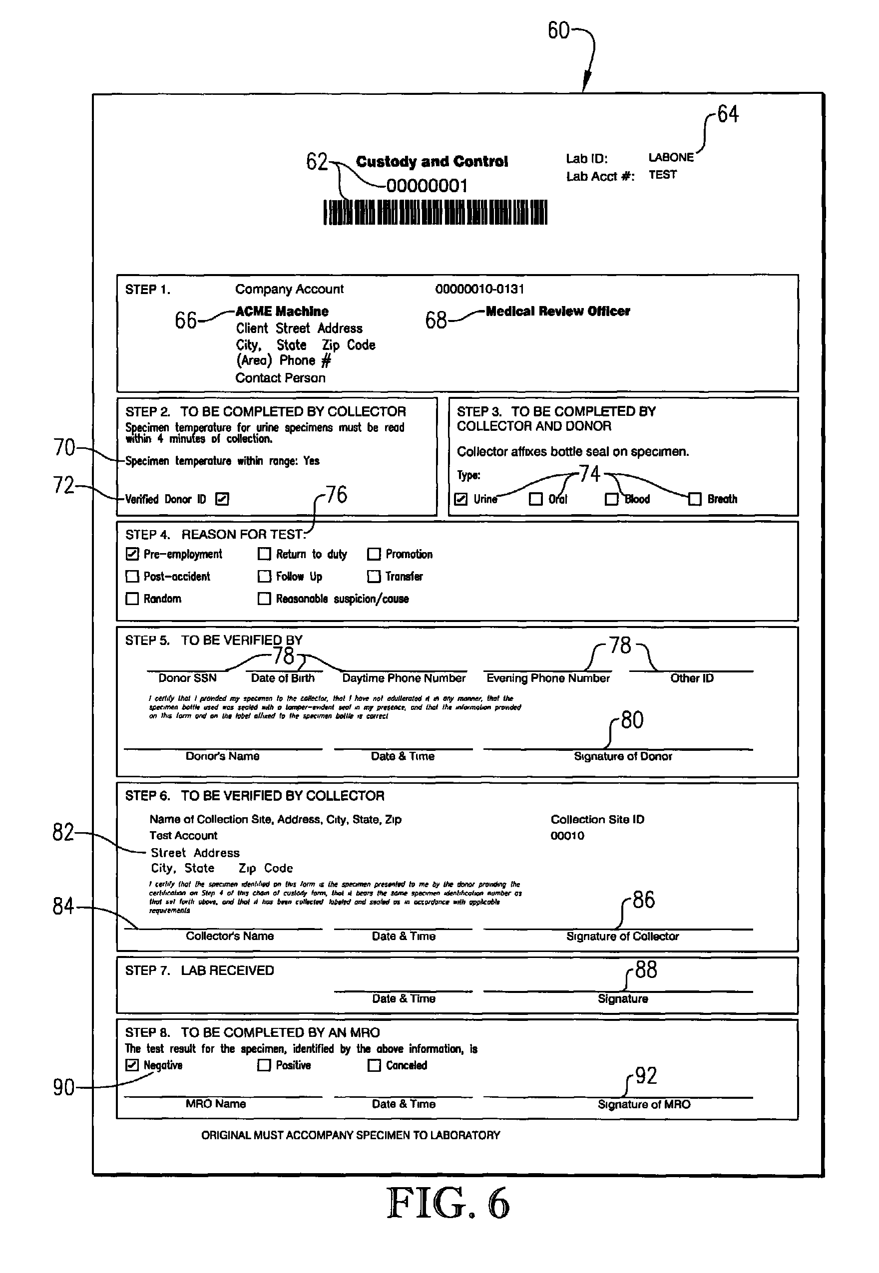 Patent US8200438 - Method and computer program for creating ...