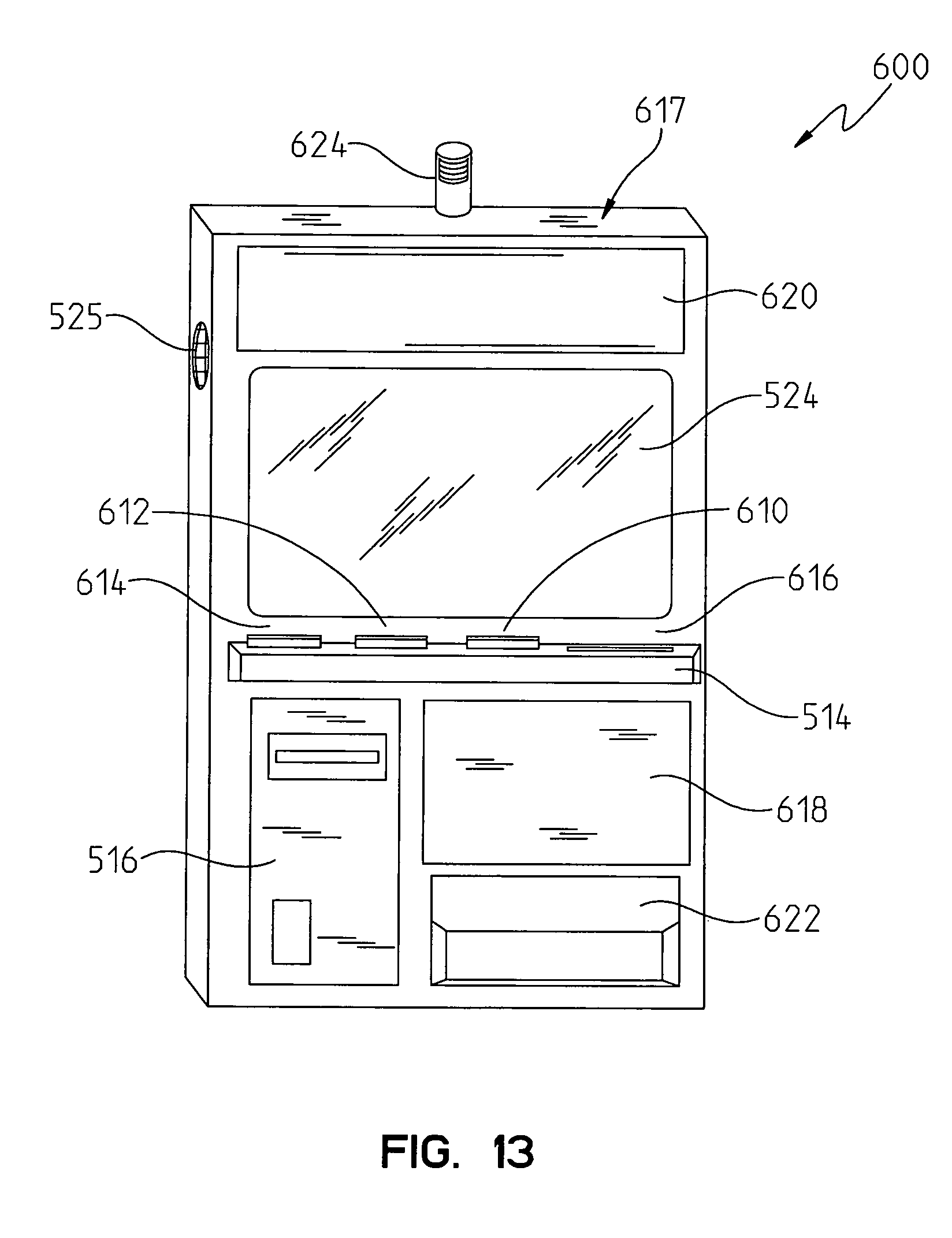 patent us8210921 instant lottery ticket vending machine patent drawing