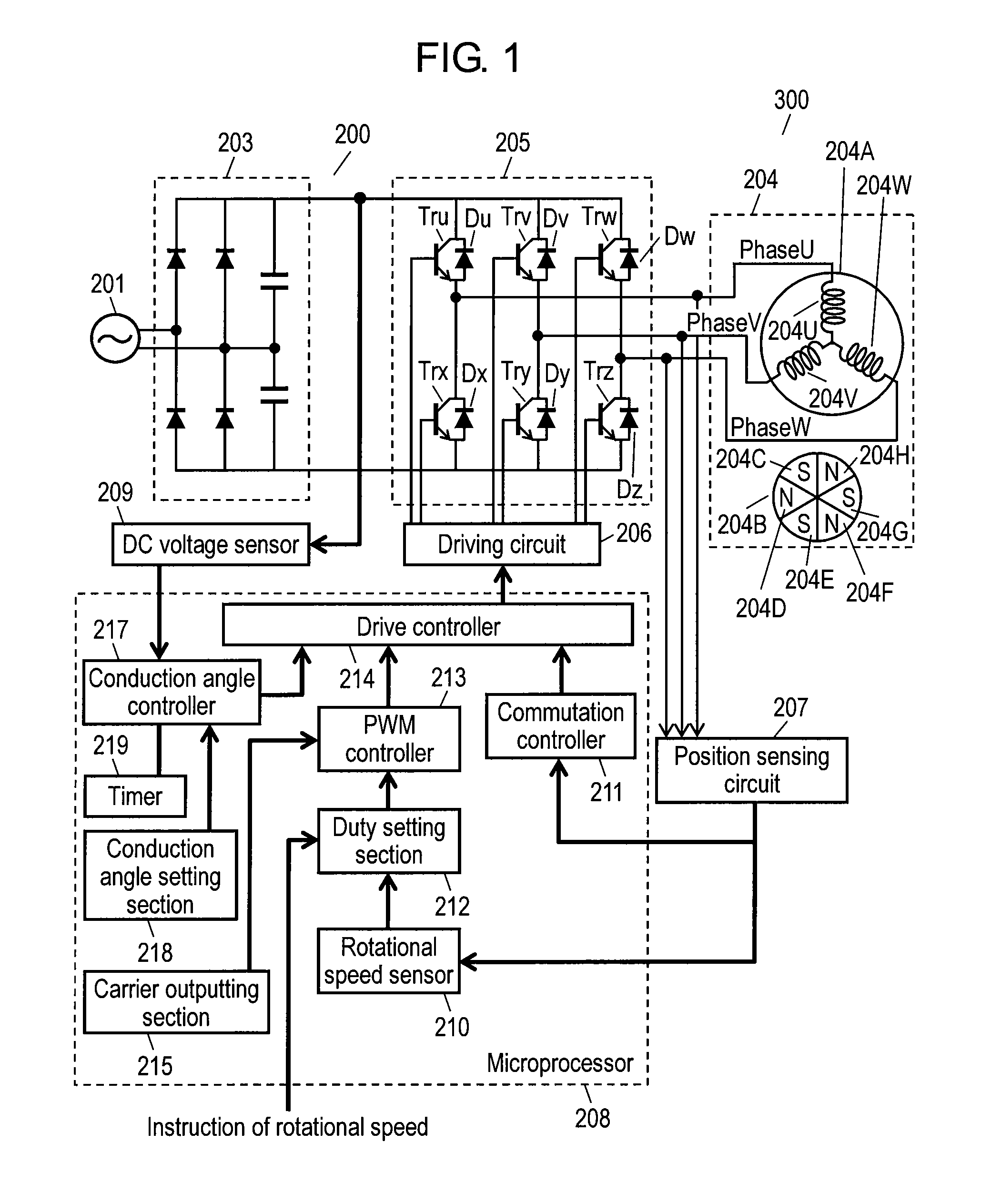 US08212504 20120703 D00001 patent us8212504 conduction angle control of brushless motor whelen mpc01 wiring diagram at et-consult.org