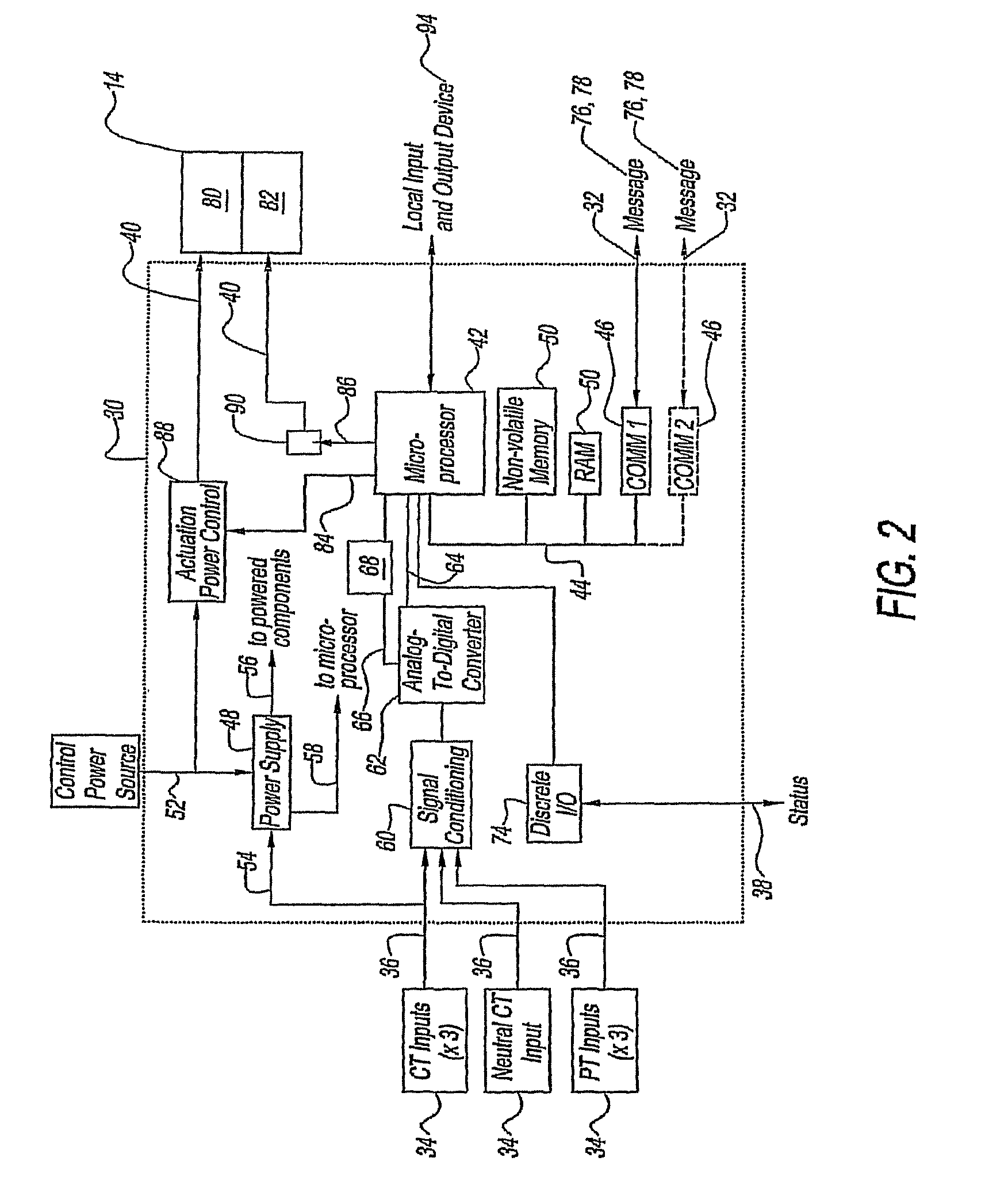 patent us8213144 - circuit protection system