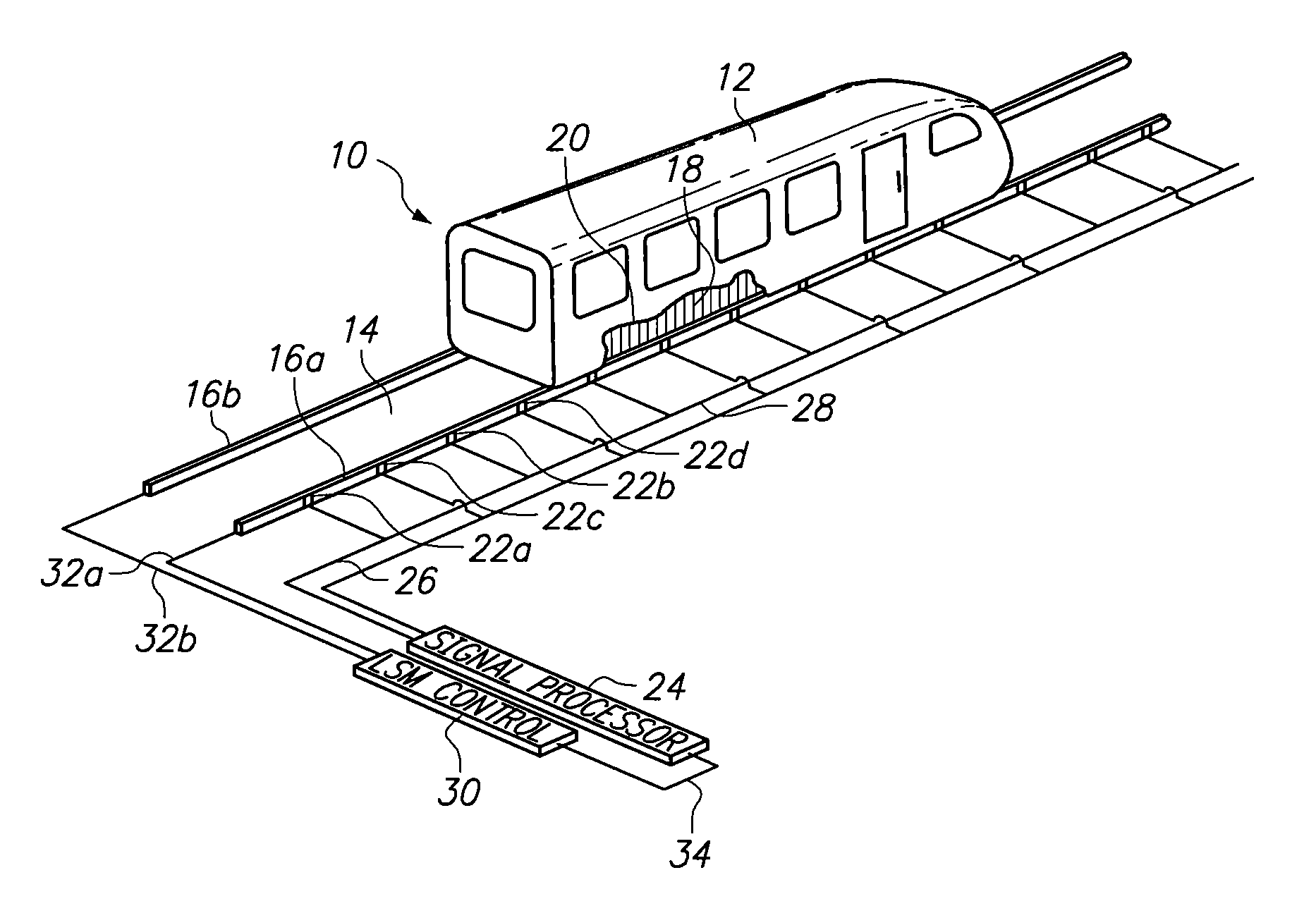 Patent Us8224509 Linear Synchronous Motor With Phase