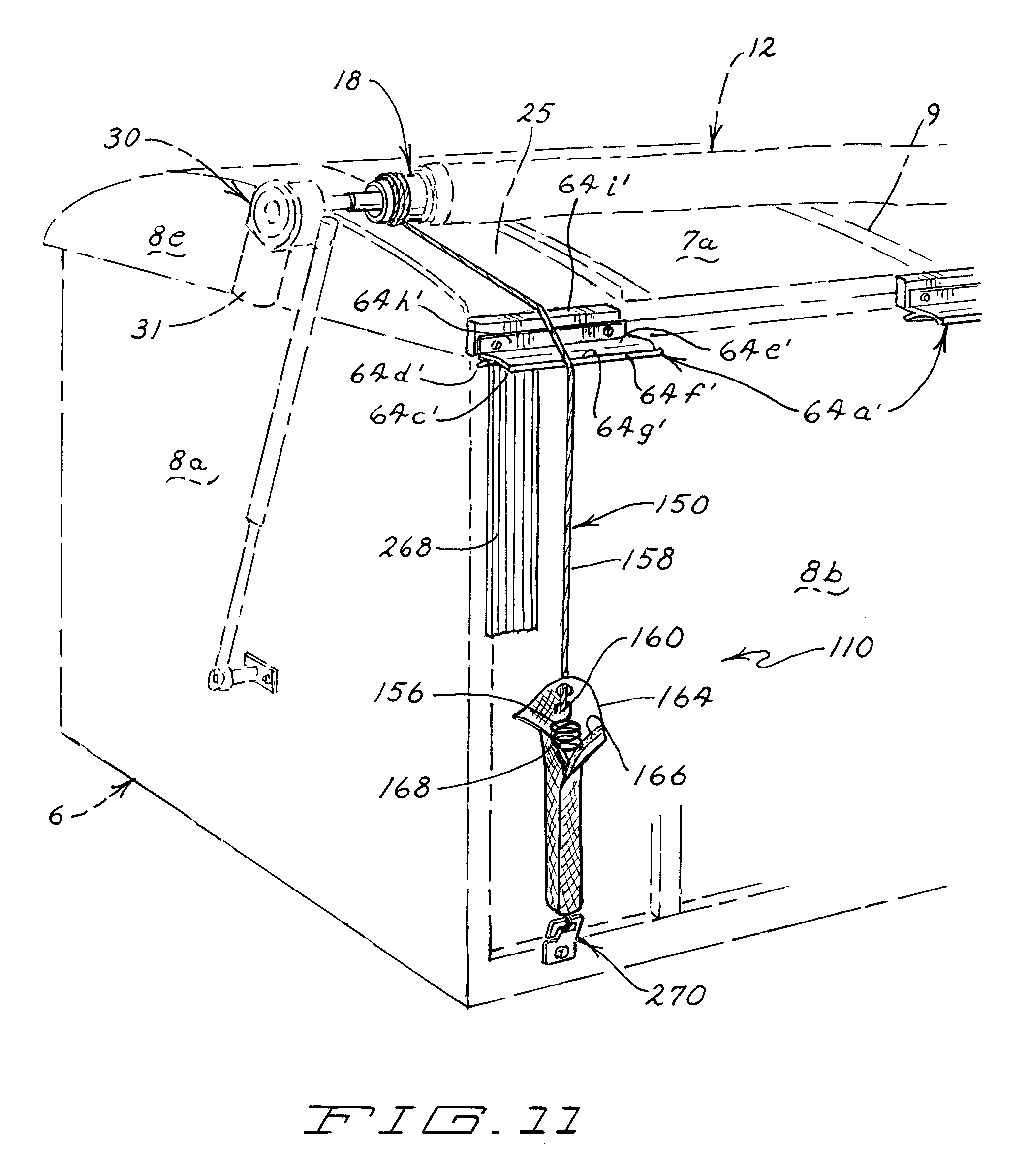 US08226150 20120724 D00012 patent us8226150 roll up tarp apparatus google patents tarp switch wiring diagram at nearapp.co