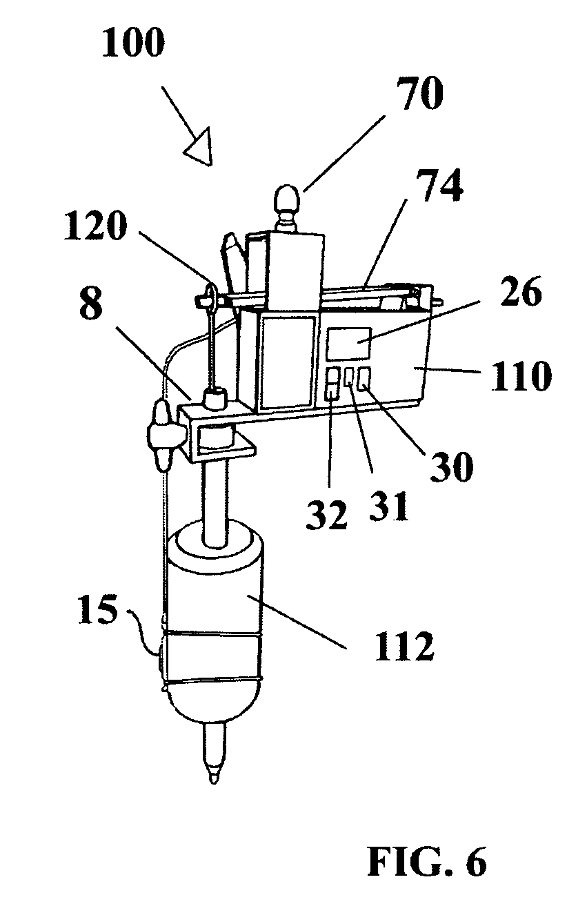 brevet us8228666 - retrofit control system and power supply for a tattoo gun