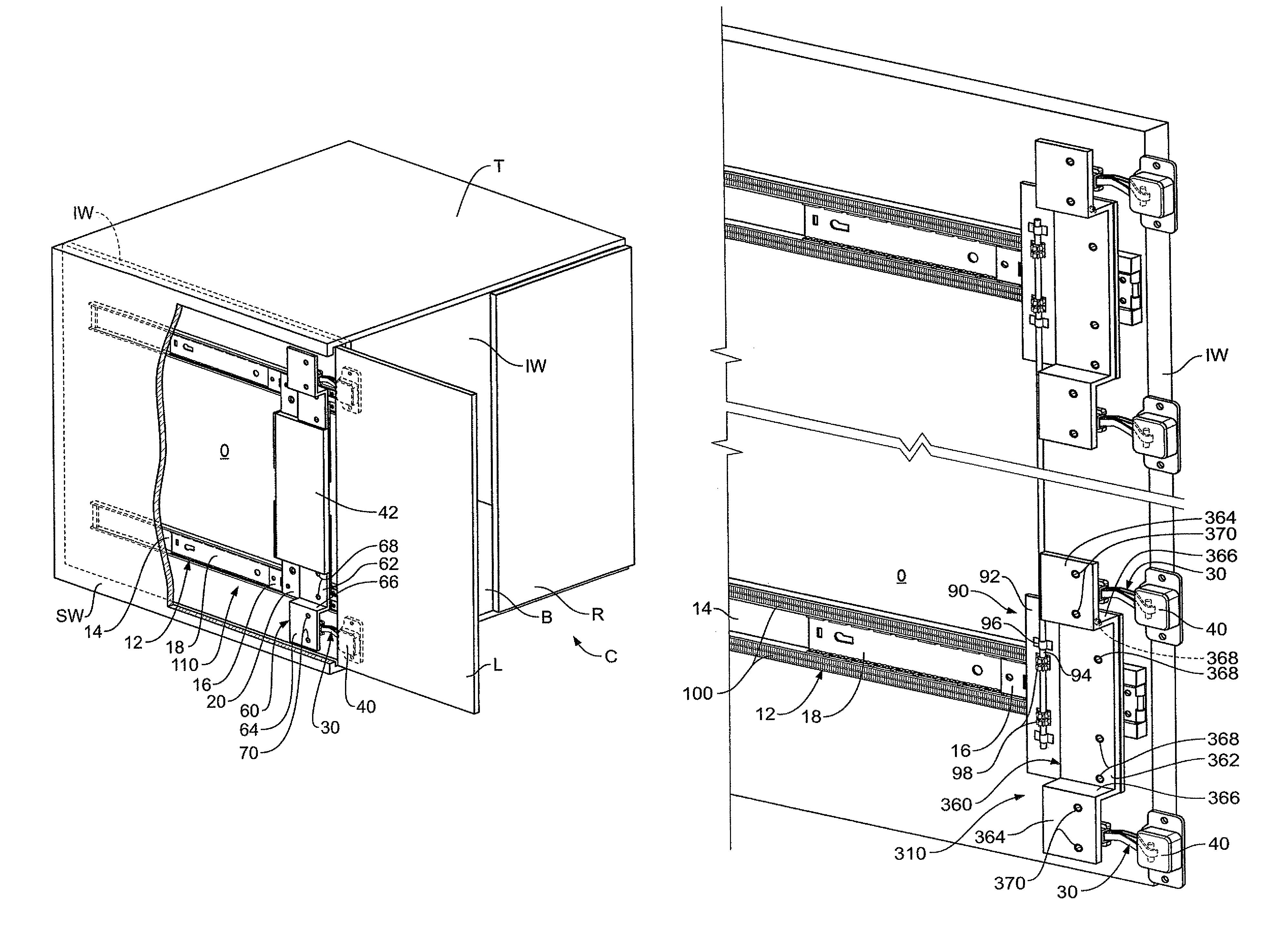 Patent Us8231187 Hinge Bracket For A Pocket Door