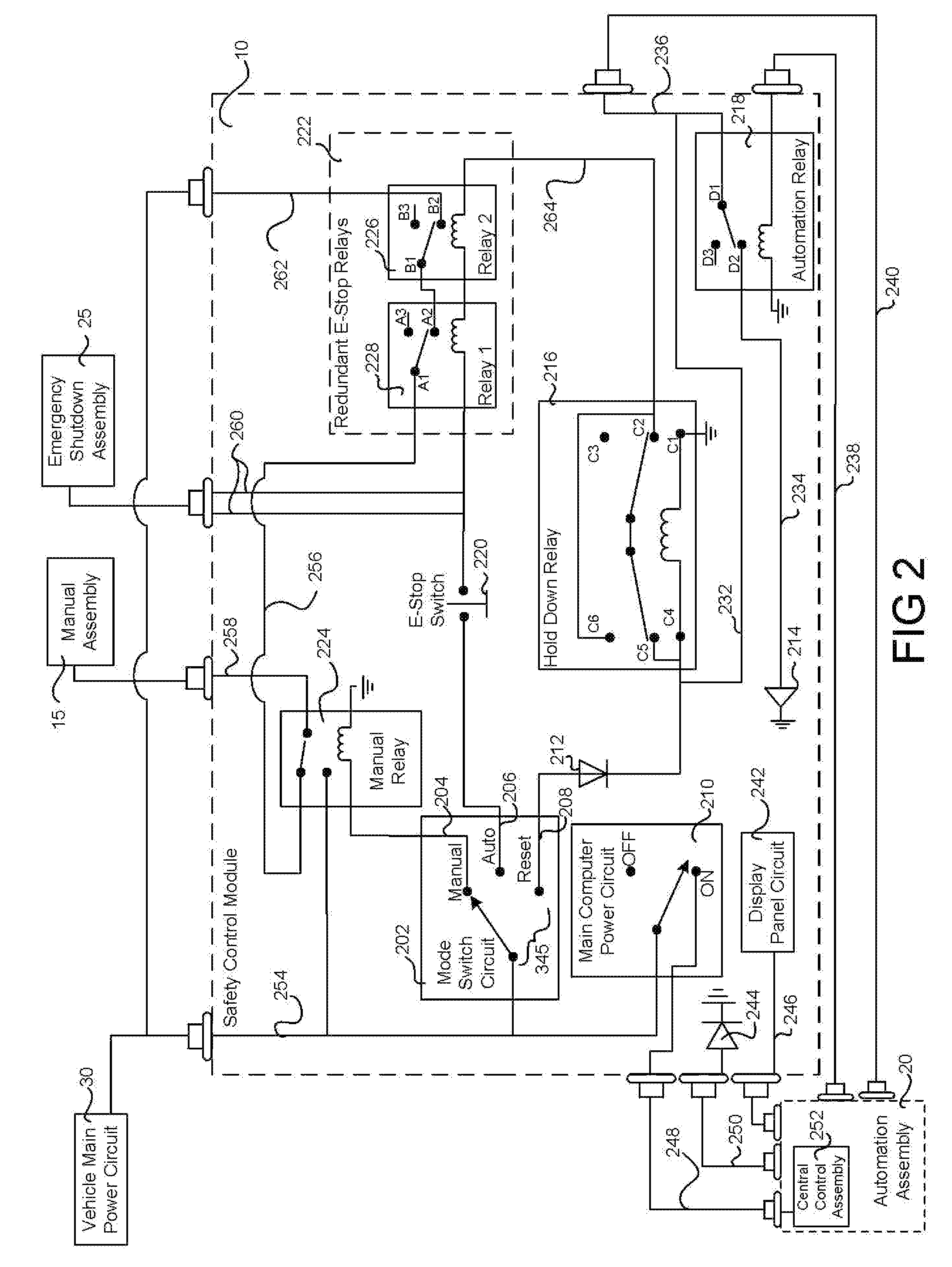 Patent Us8237389 Multi Mode Safety Control Module Google Patents 1997 Ford 460 Engine Diagram Drawing
