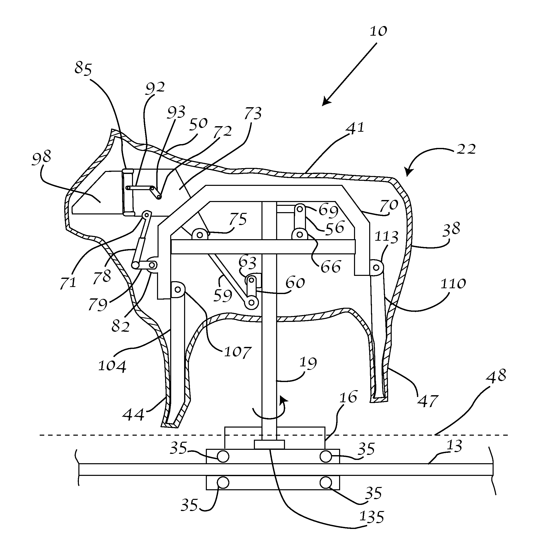 US08246479 20120821 D00000 patent us8246479 mechanical device for simulating an animal ride mechanical bull wiring diagram at webbmarketing.co