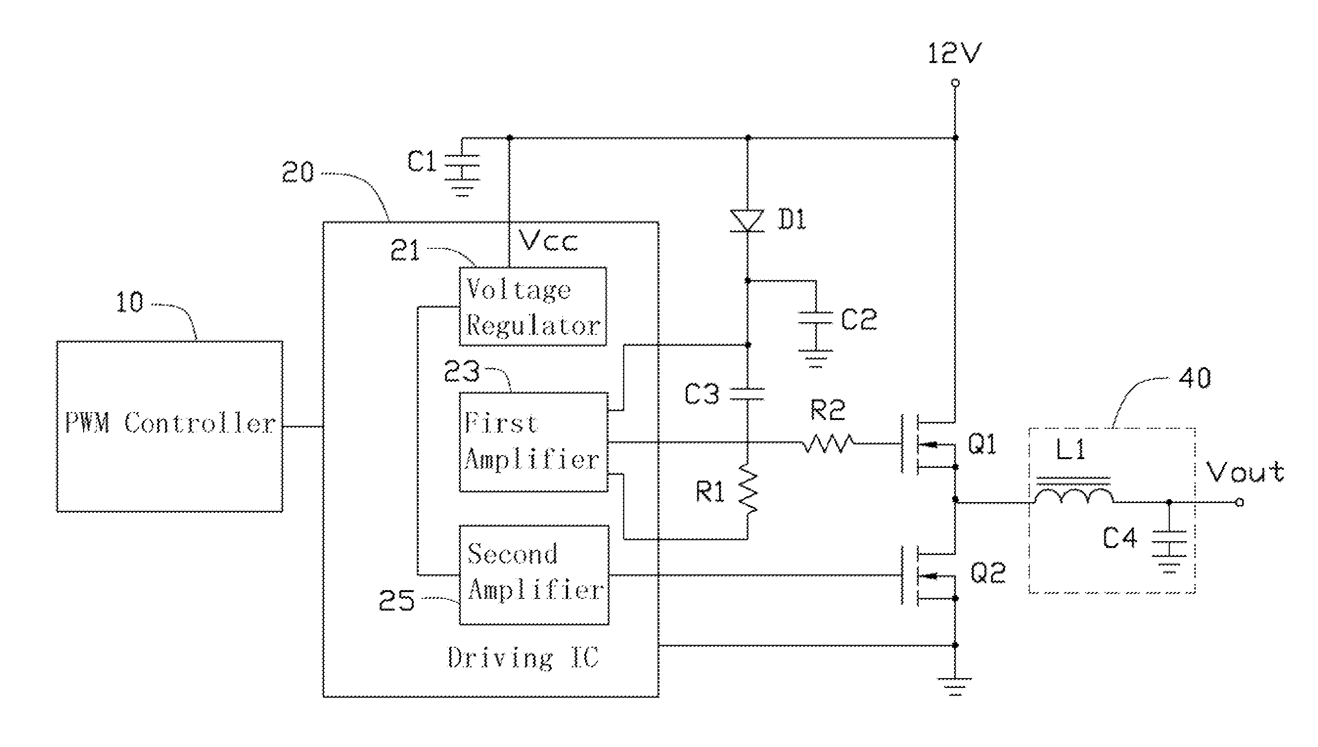 Patent Us8250388 Power Supply Circuit For Cpu Google Patents Control Integrated Powersupplycircuit Drawing