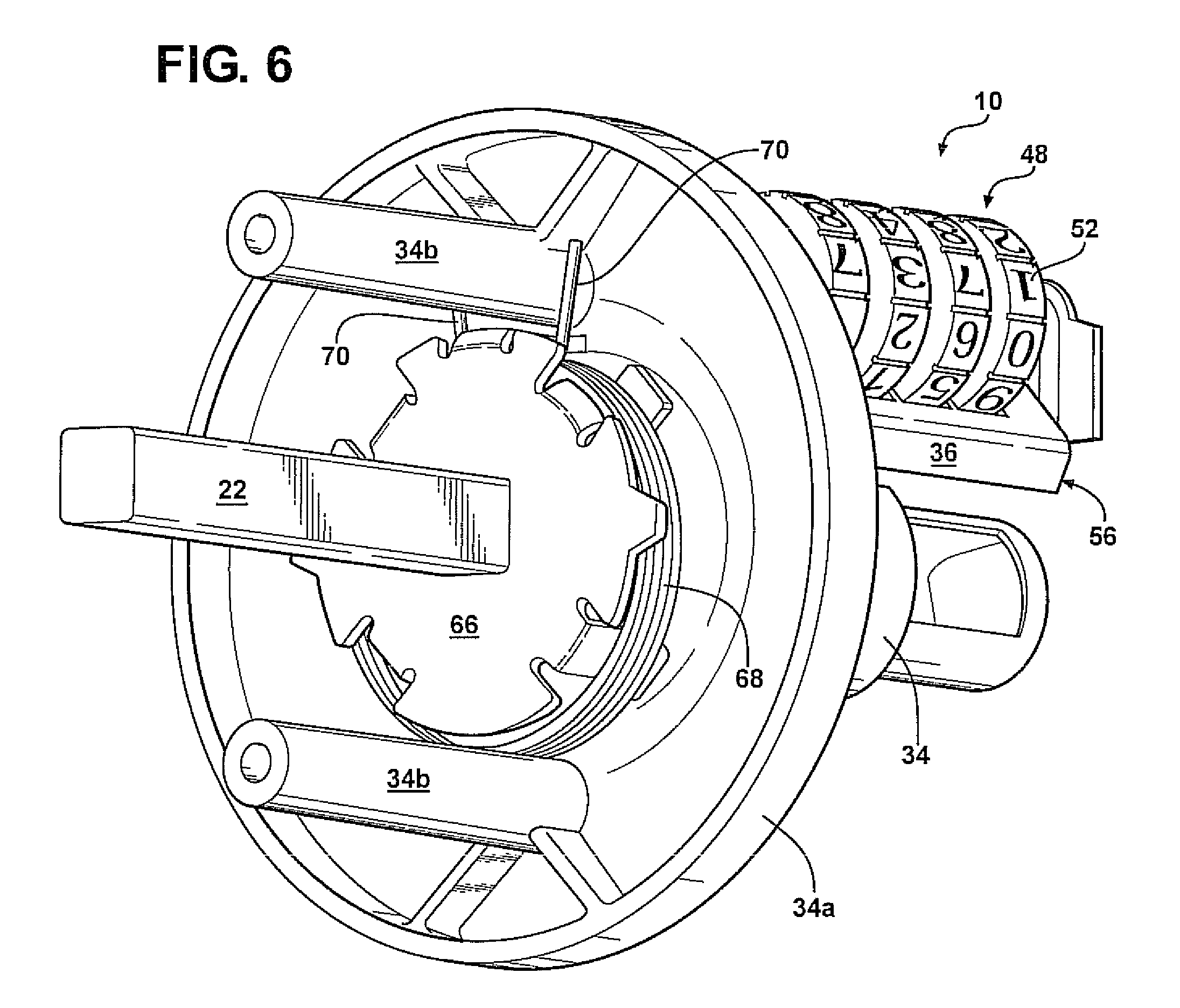 Patent US8250888 Door knob assembly Google Patents