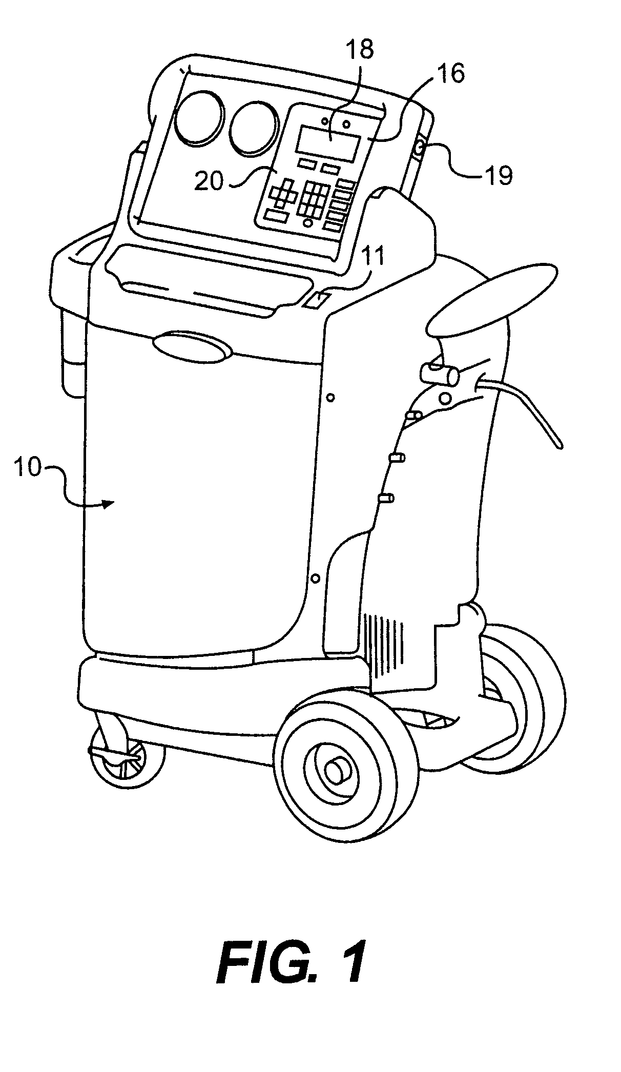 Patent US8261564 Refrigerant recovery apparatus with variable vacuum  #3B3B3B