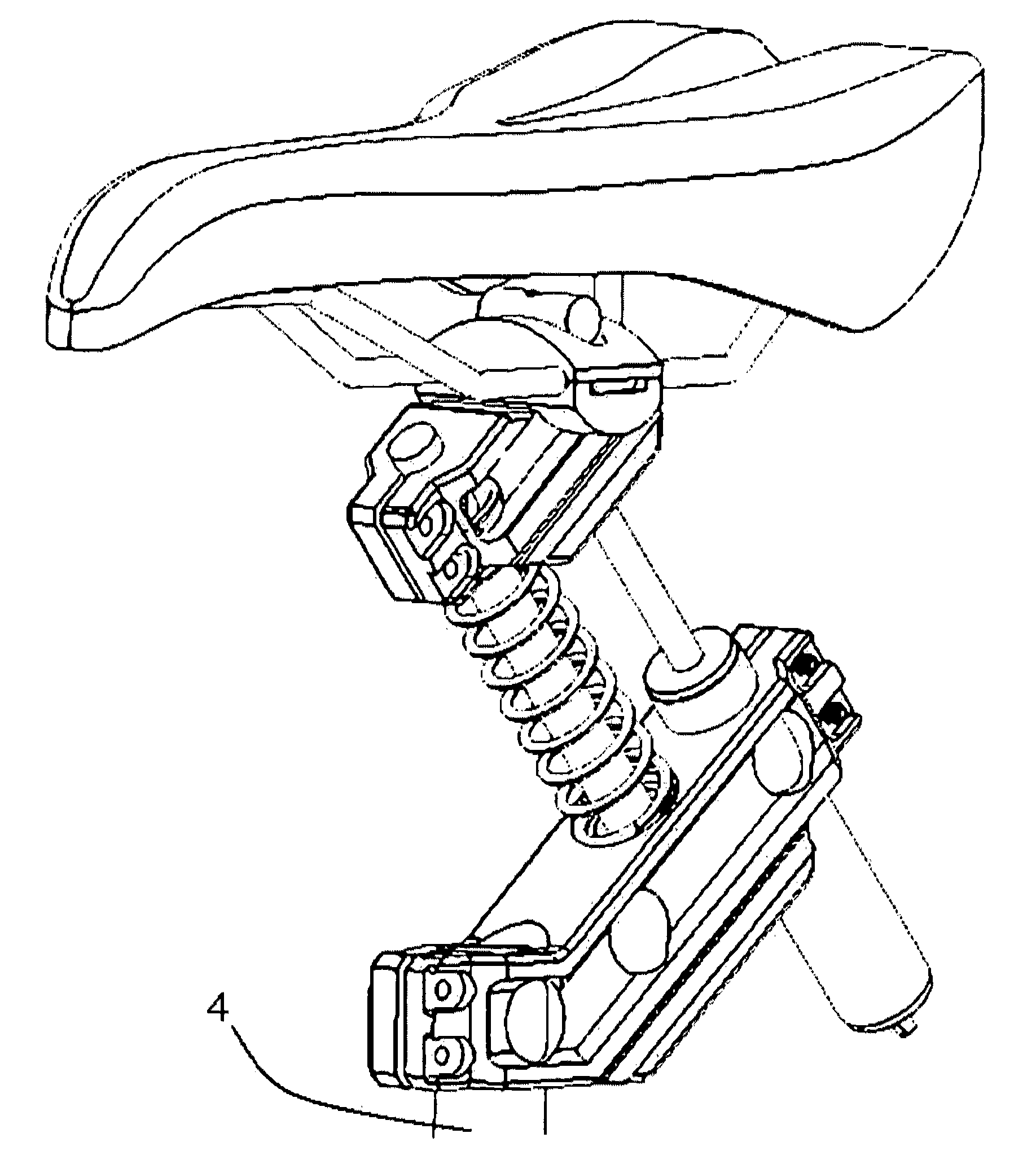 patent us variable height and lateral position suspension patent drawing