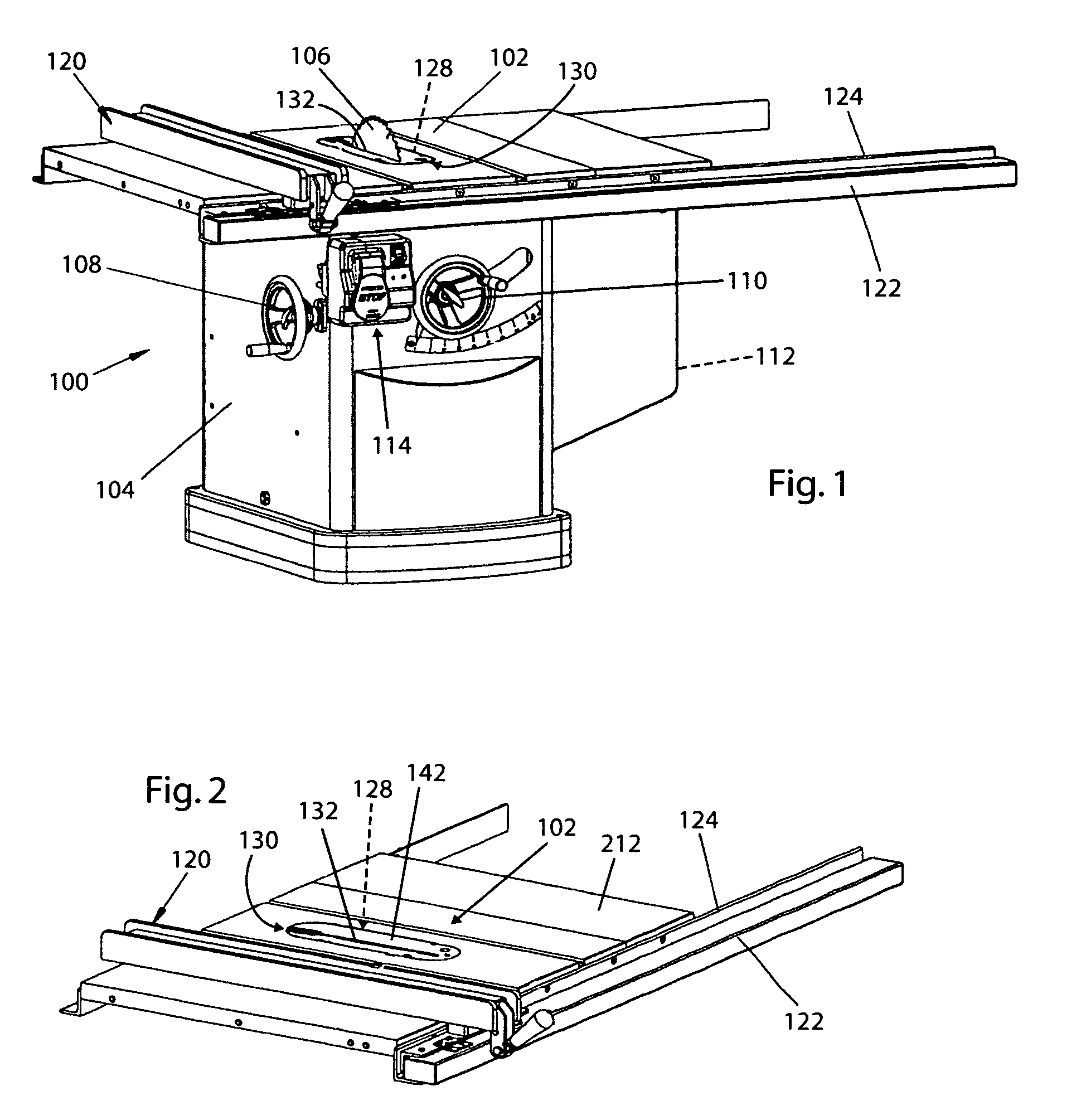 Patent Us8266997 Table Saw Throat Plates And Table Saws Including The Same Google Patents