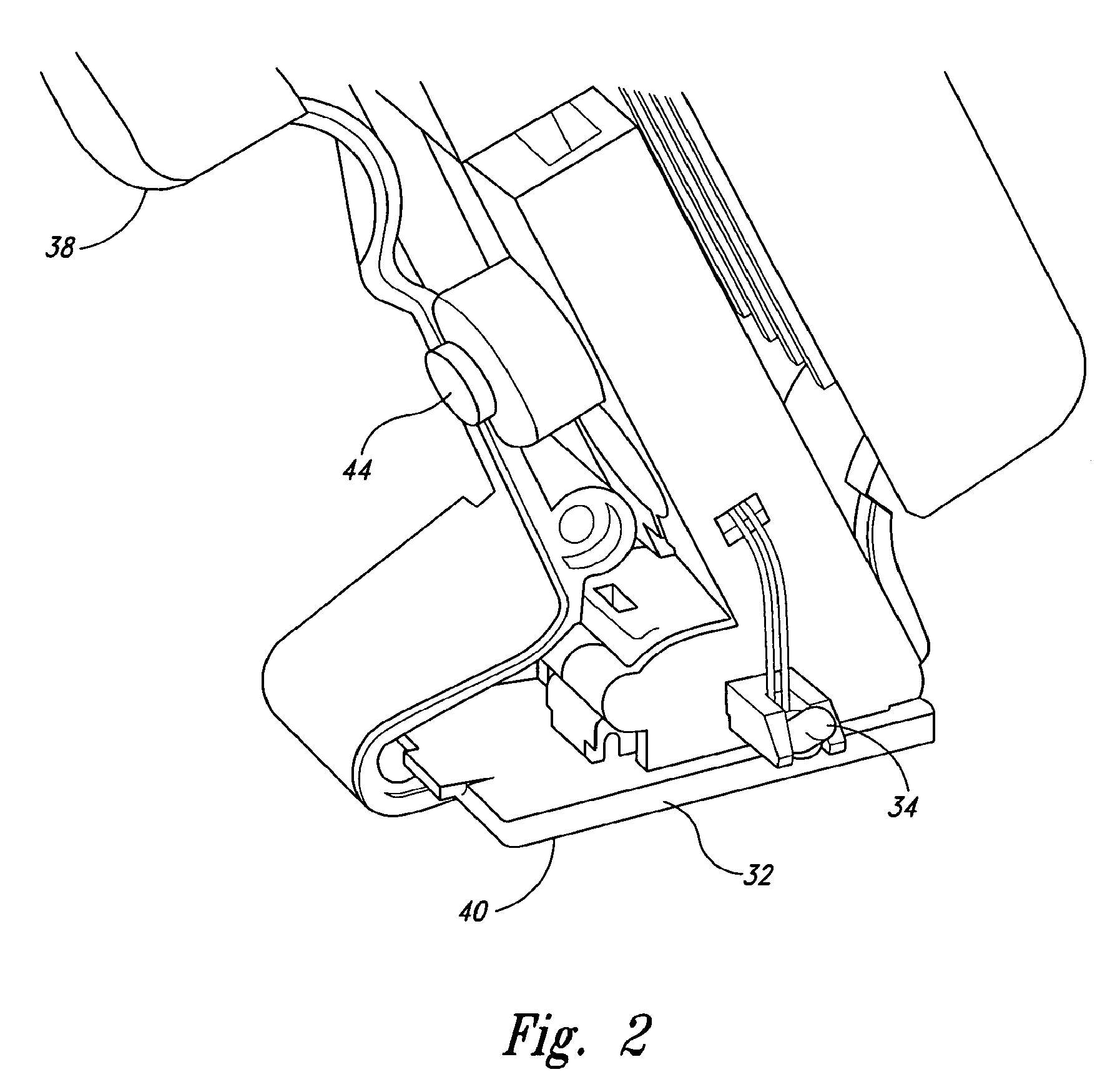 patent us8272813 - combination power tool and object sensor