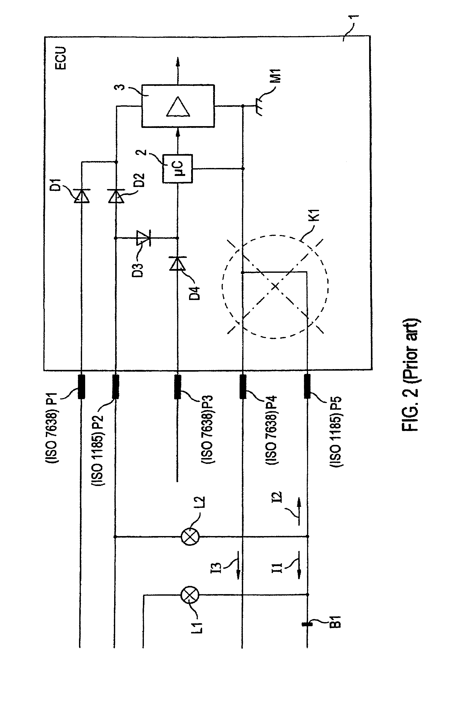 US08274174 20120925 D00002 patent us8274174 circuit arrangement for supplying power to iso 7638 wiring diagram at nearapp.co