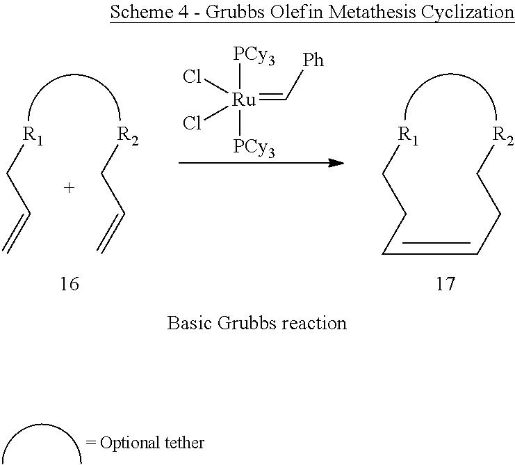 olefin ring closing metathesis Olefin cross metathesis pulin wang 2/21/08 olefin saunders  mechanism of olefin metathesis hérisson, p j • ring closing metathesis • ring opening.