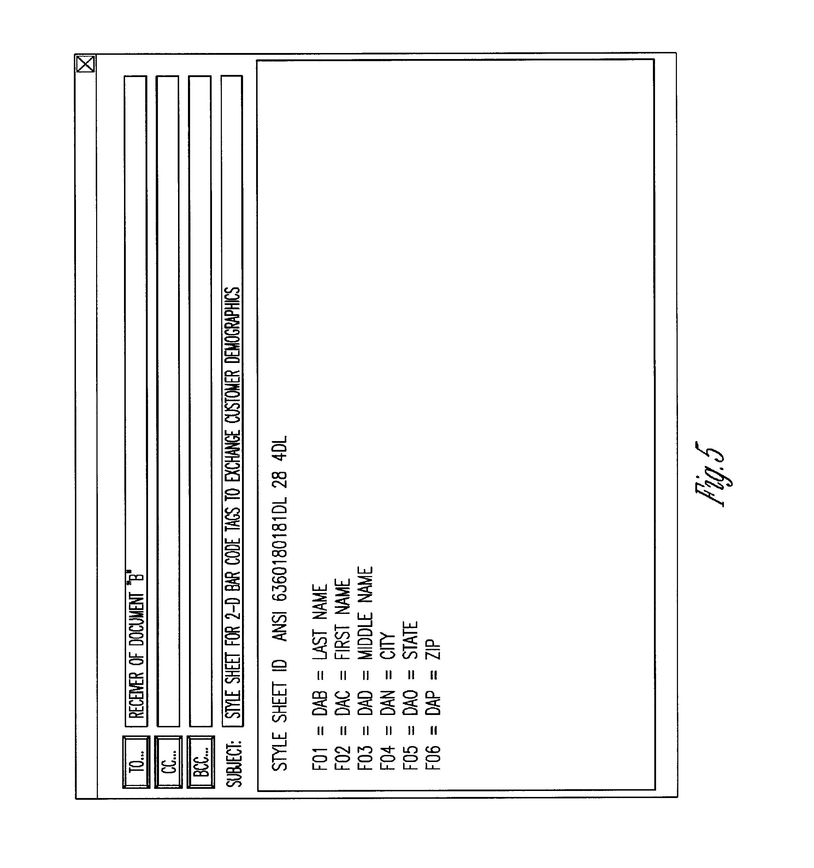 Patent US8282001 Method for data interchange Google Patents