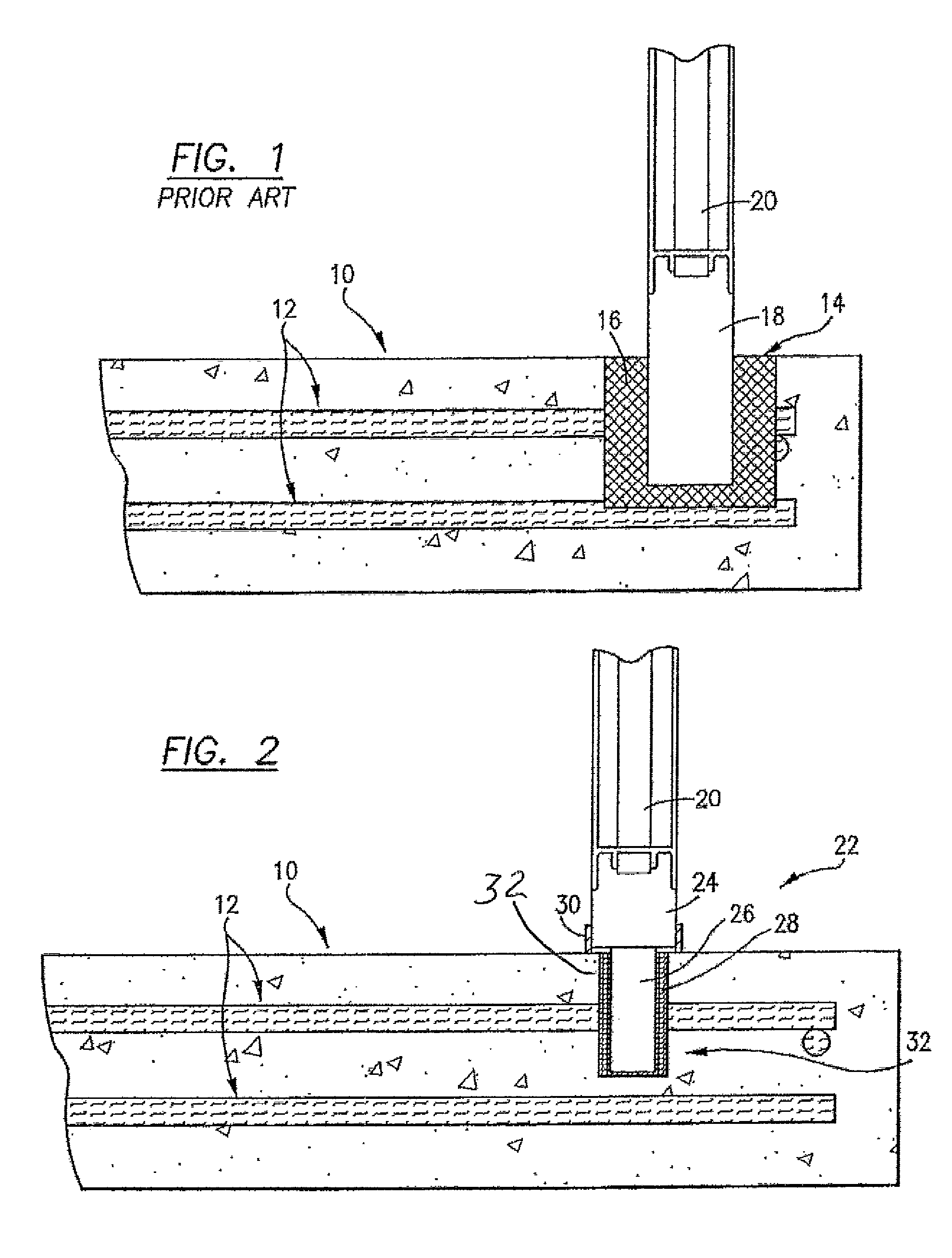 Patent Us8282083 Corrosion Resistant Railing Insert And