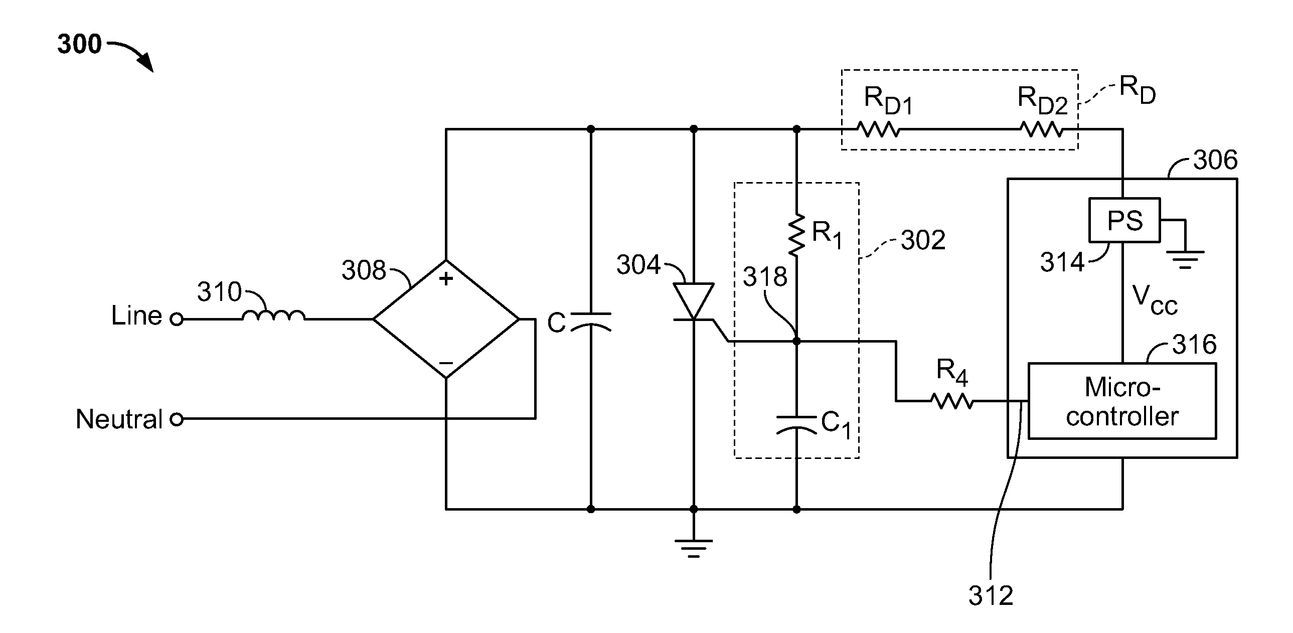 Patent Us8284535 Backup Tripping Function For A Circuit Breaker Microcontroller Based Diode And Bipolar Junction Transistor Bjt Drawing