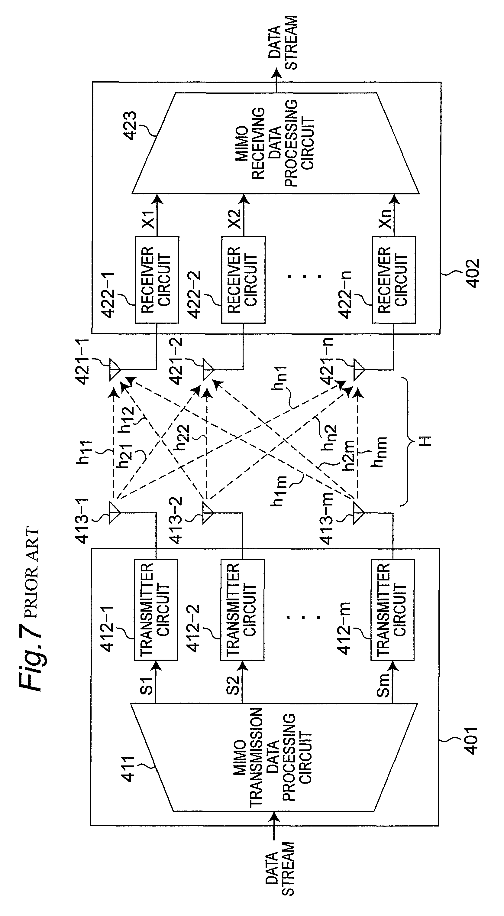 Patent Us8284718 Wireless Communication System Having Mimo Wiring Diagram Drawing