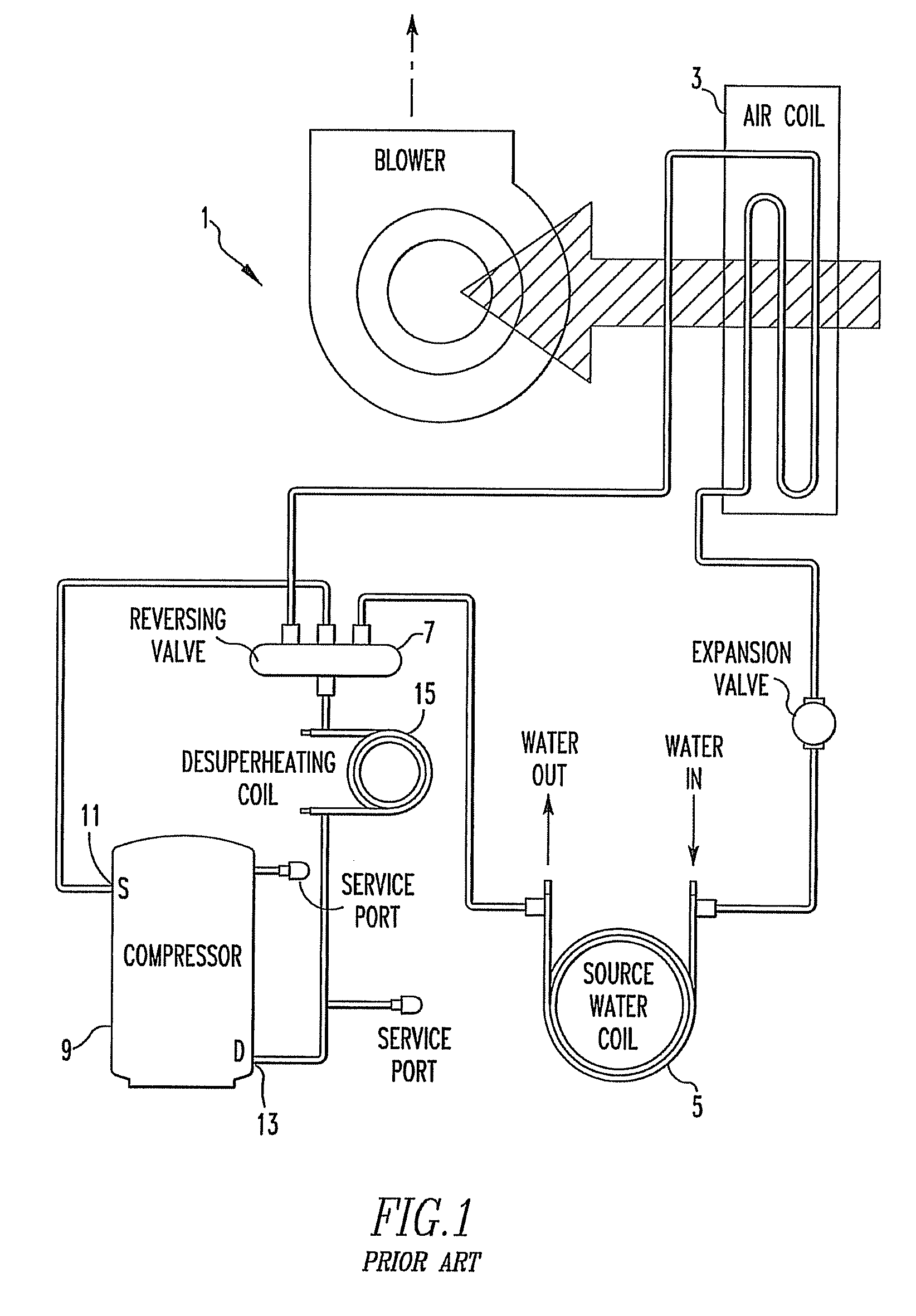 US08286438 20121016 D00001 patent us8286438 system and method for controlling a How a Desuperheater Works at eliteediting.co