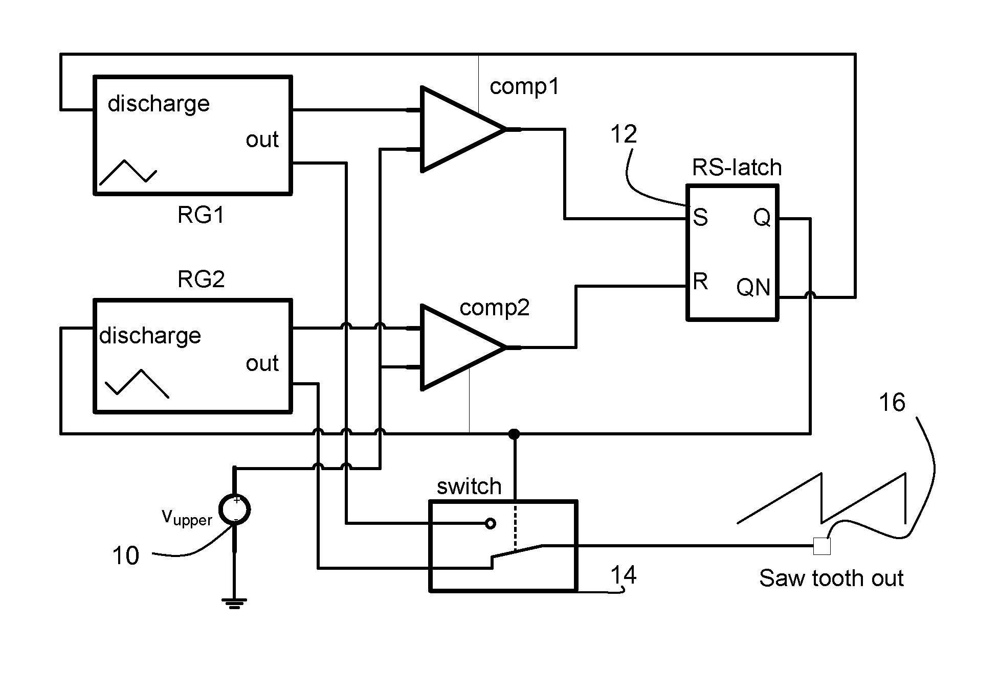 patent us8294496 - sawtooth oscillator