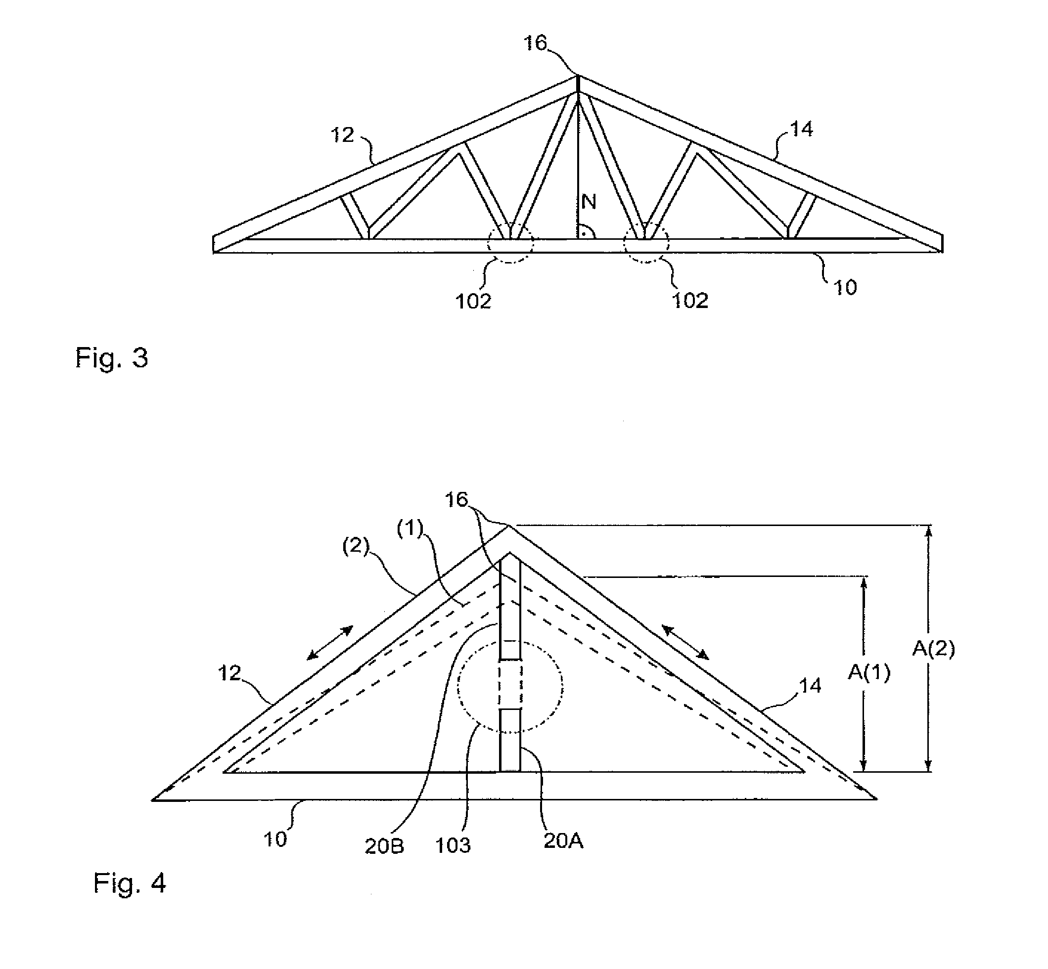 Double pitch roof truss design quotes for Roof trusses