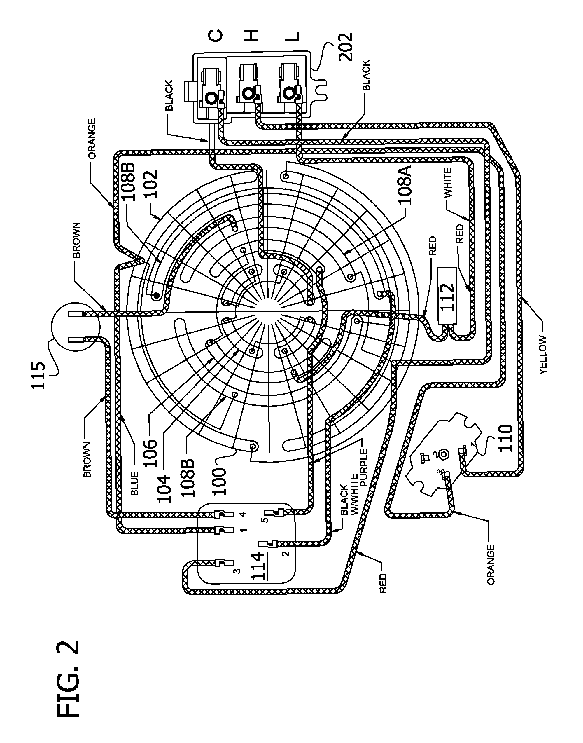 patent us8305026  4 psc motor with independent main windings and shared