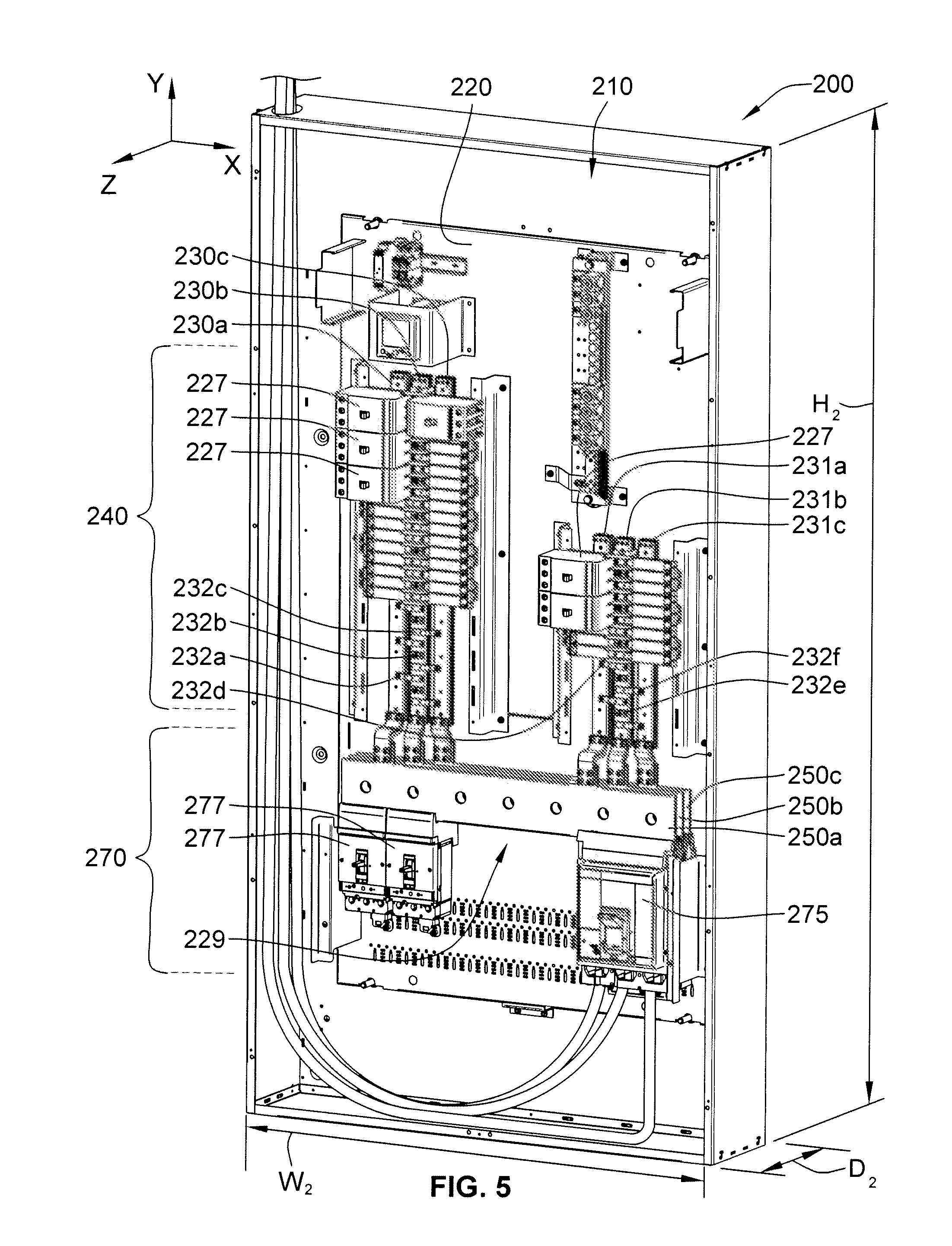 wiring diagram for siemens split bus panel square d panel
