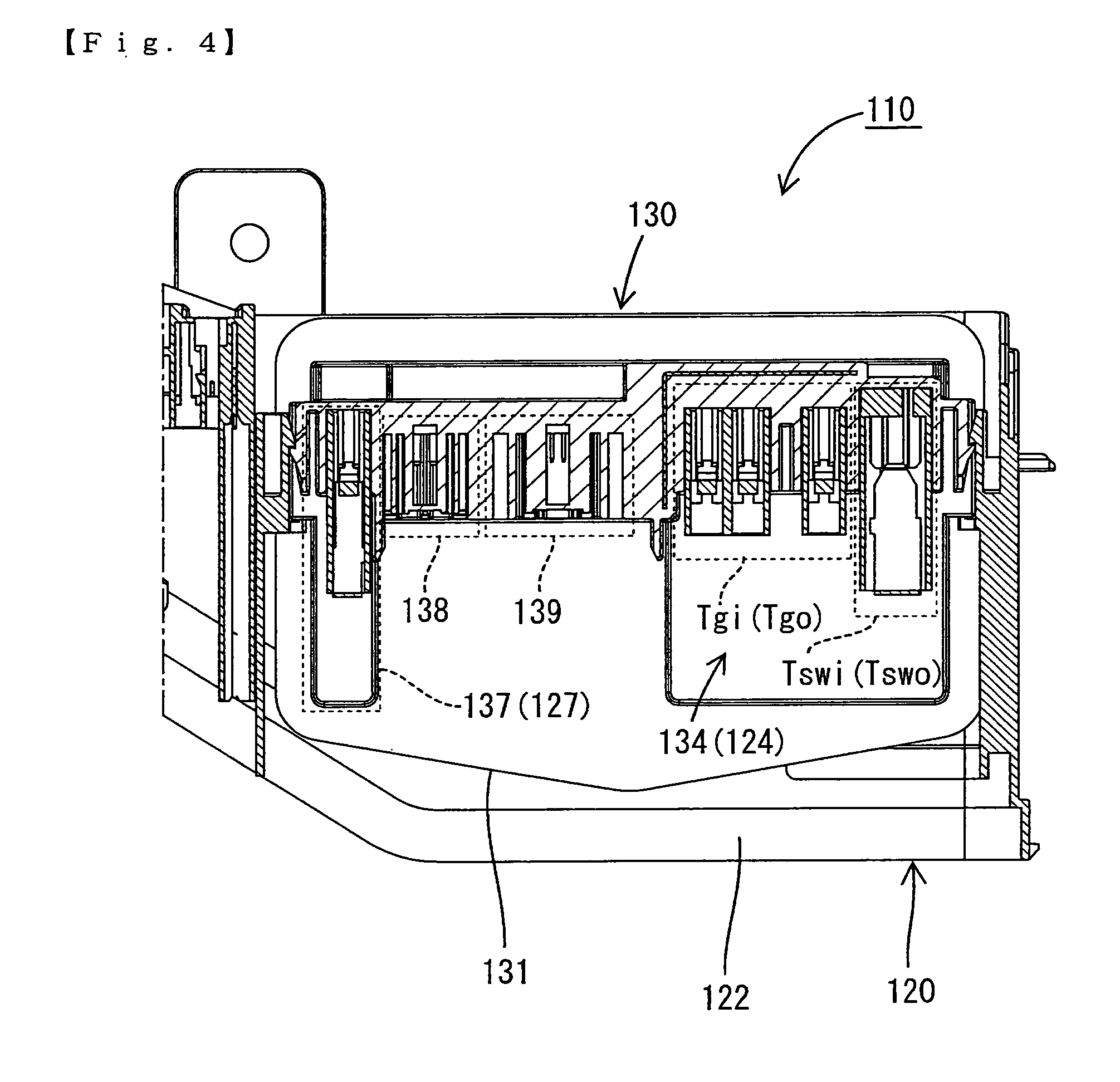 patent us8310082 - electrical junction box and power distribution unit