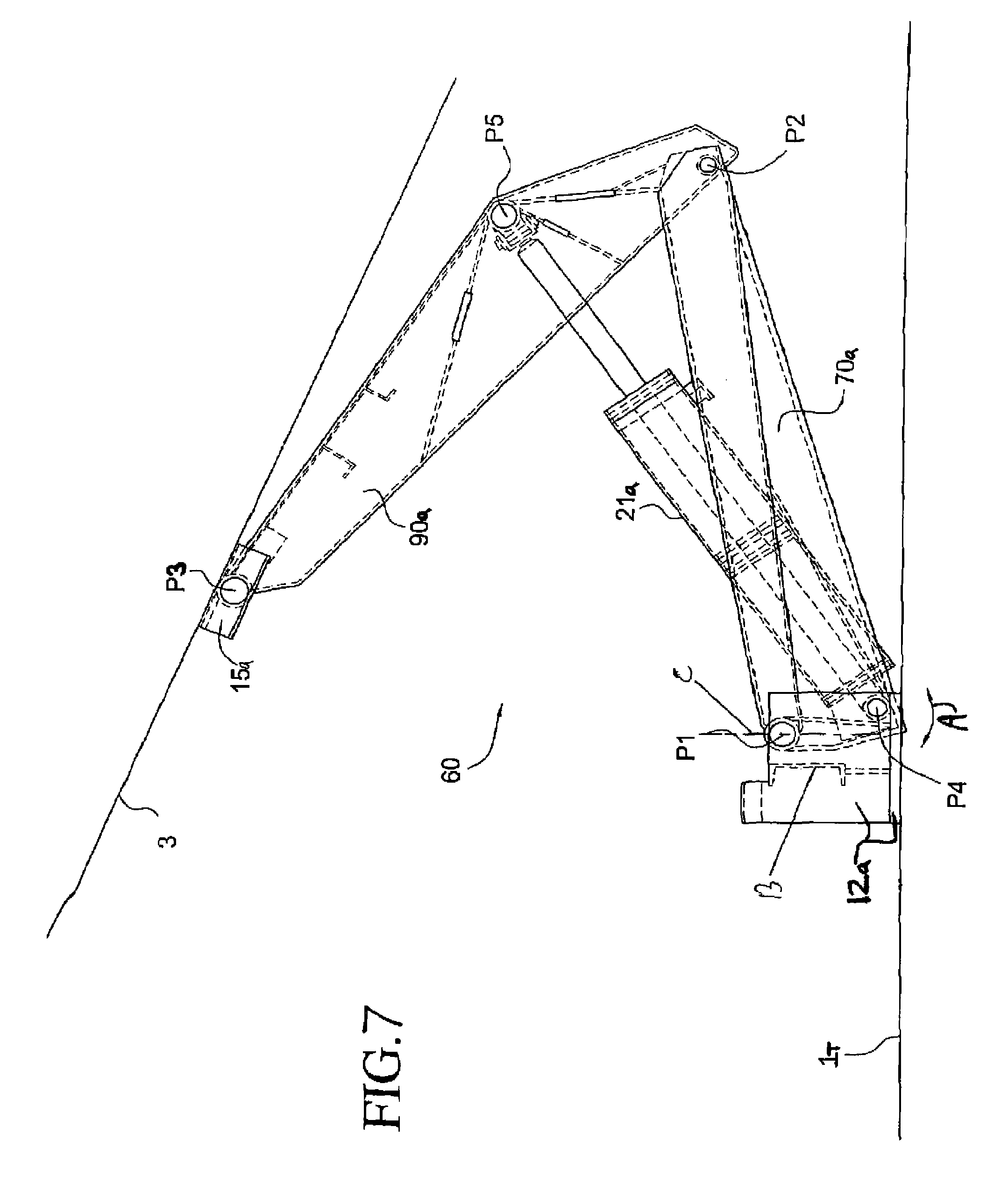 Drawing Arm Lifts : Patent us hoist google patents