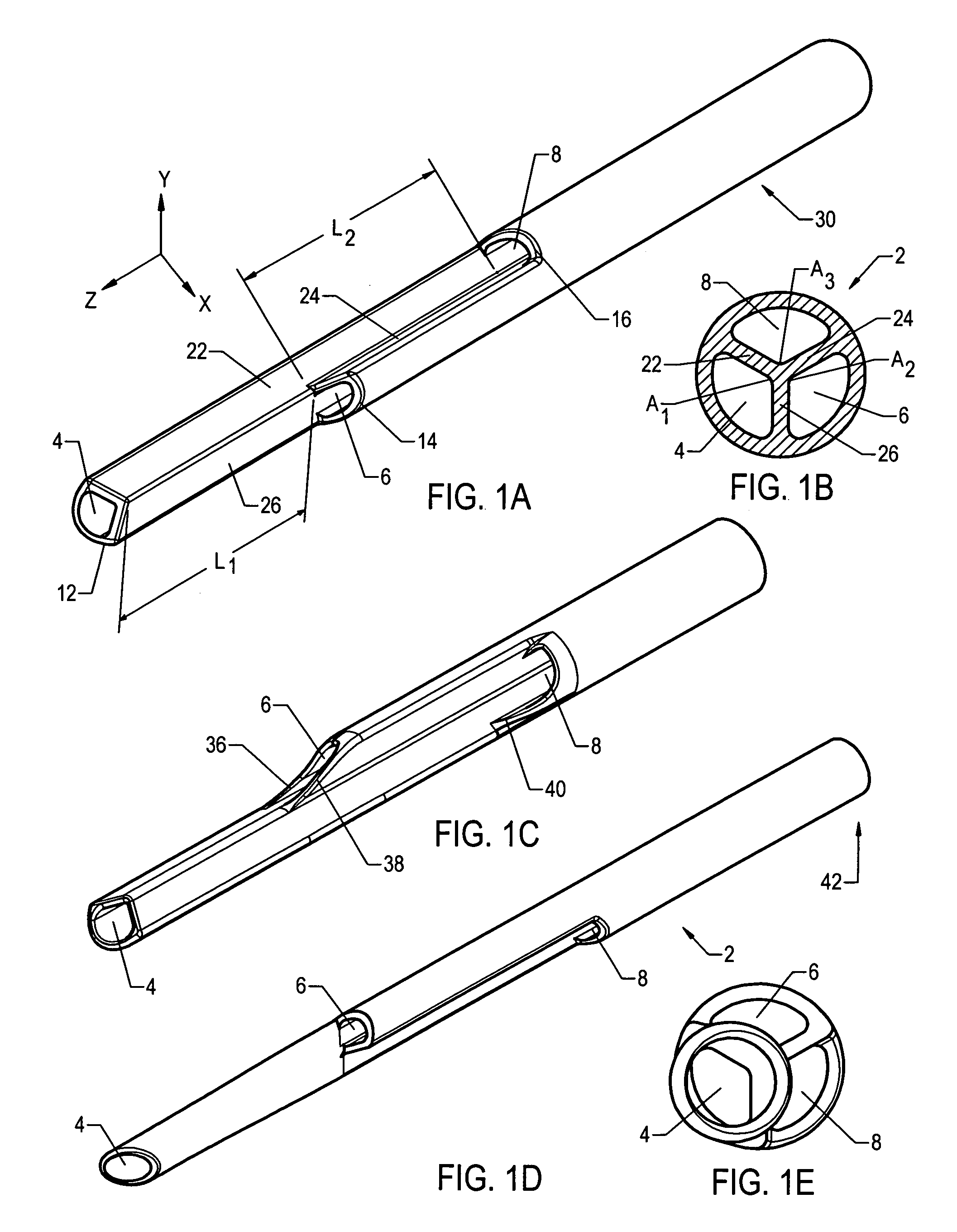 Patent US8323227 - Tip configurations for a multi-lumen catheter ...