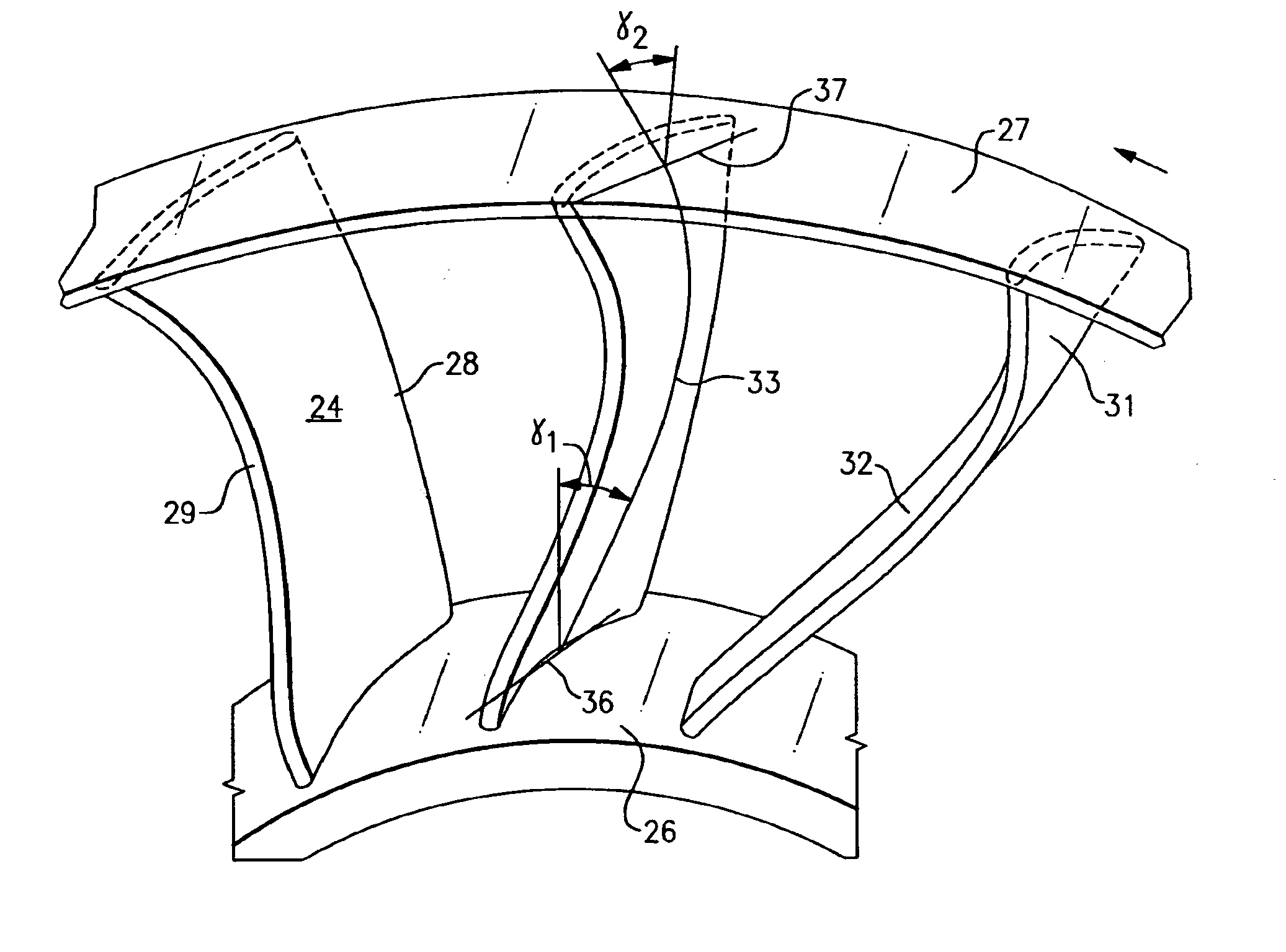Patent US8333559 Outlet Guide Vanes For Axial Flow Fans   #383838
