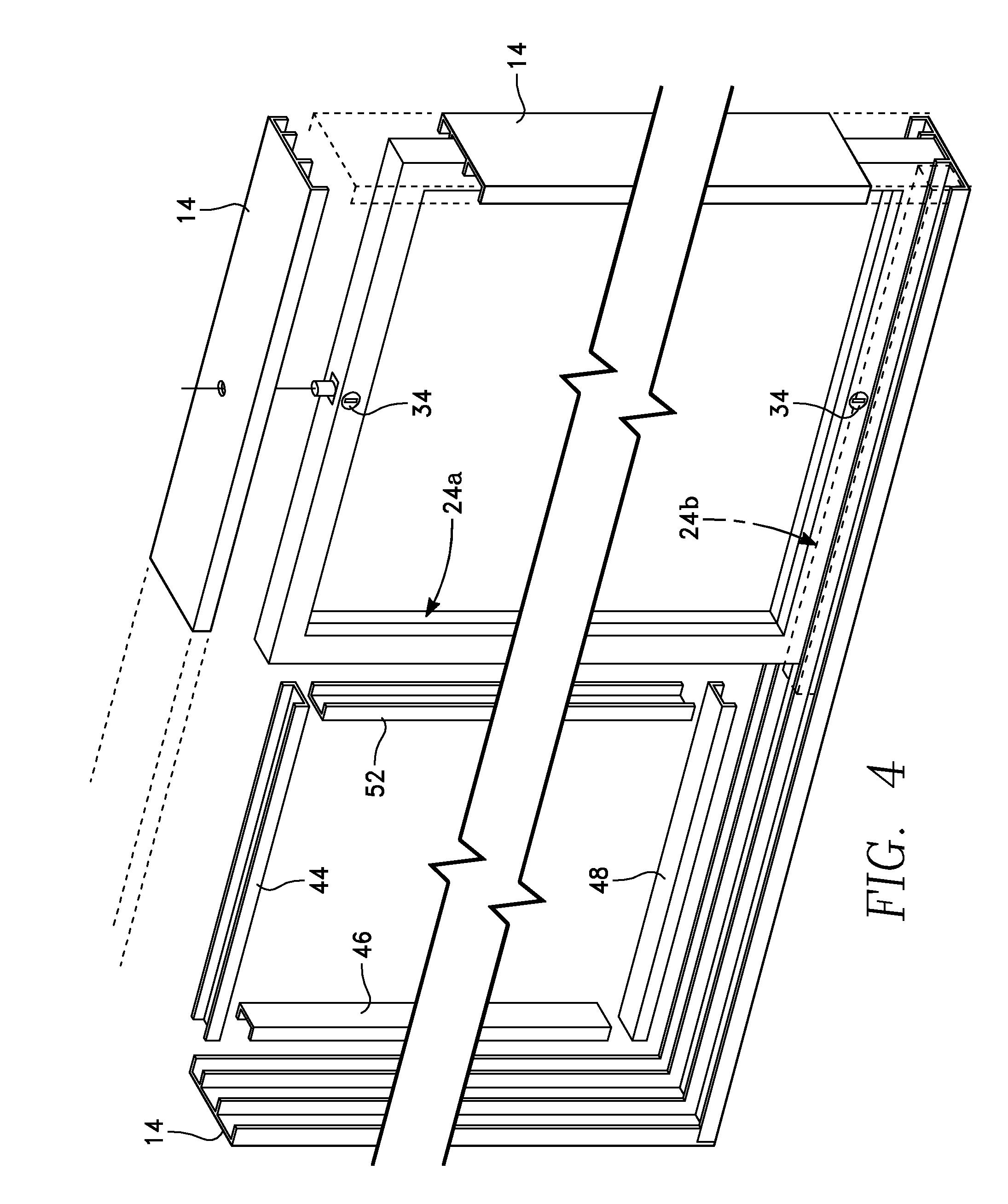 Sliding Glass Door Plan patent us8336265 - reversible sliding glass door - google patents