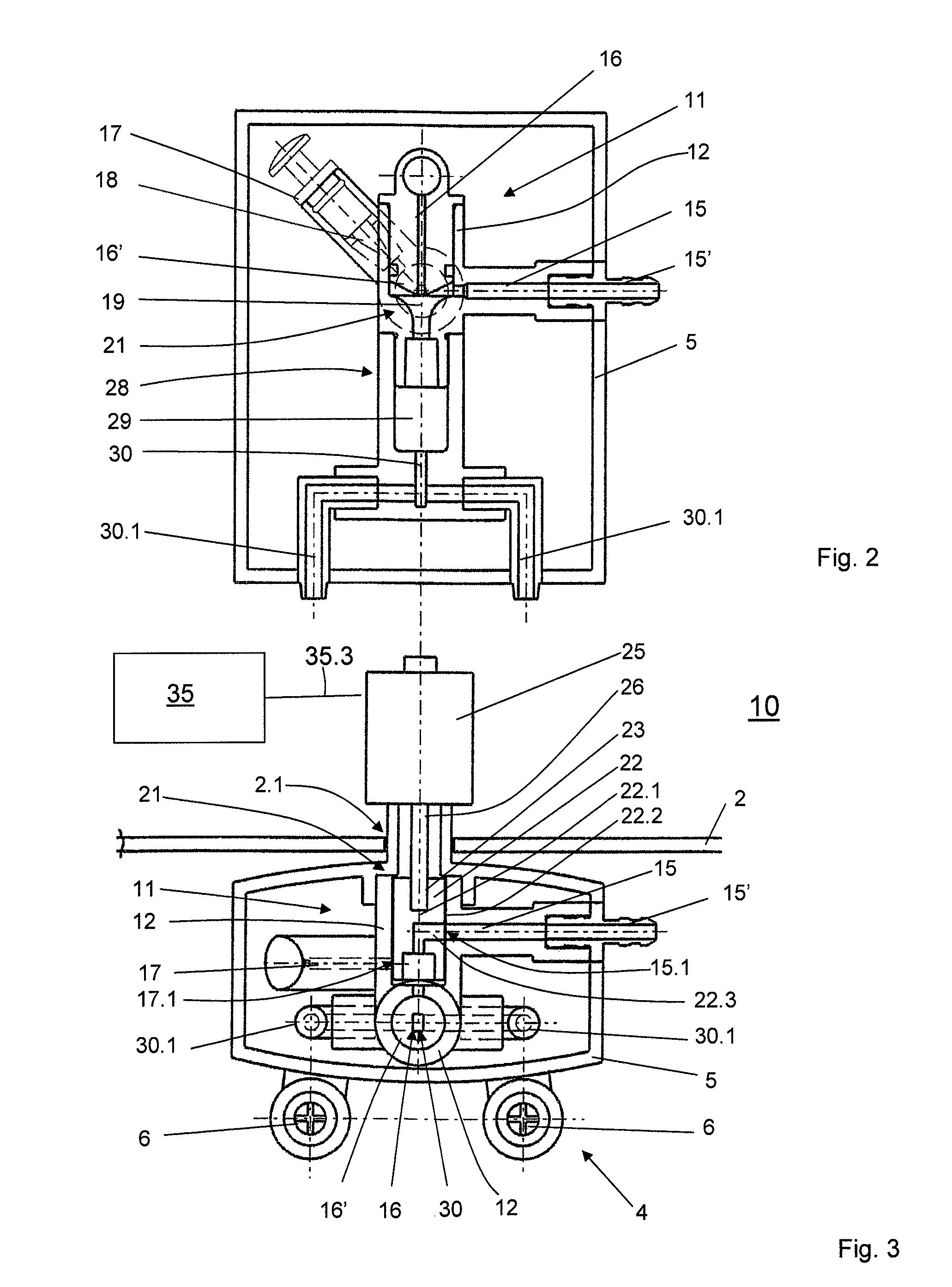 patent us8336448 dispensing device and coffee machine Orifice Venturi Balancing Valve Venturi Water Pump