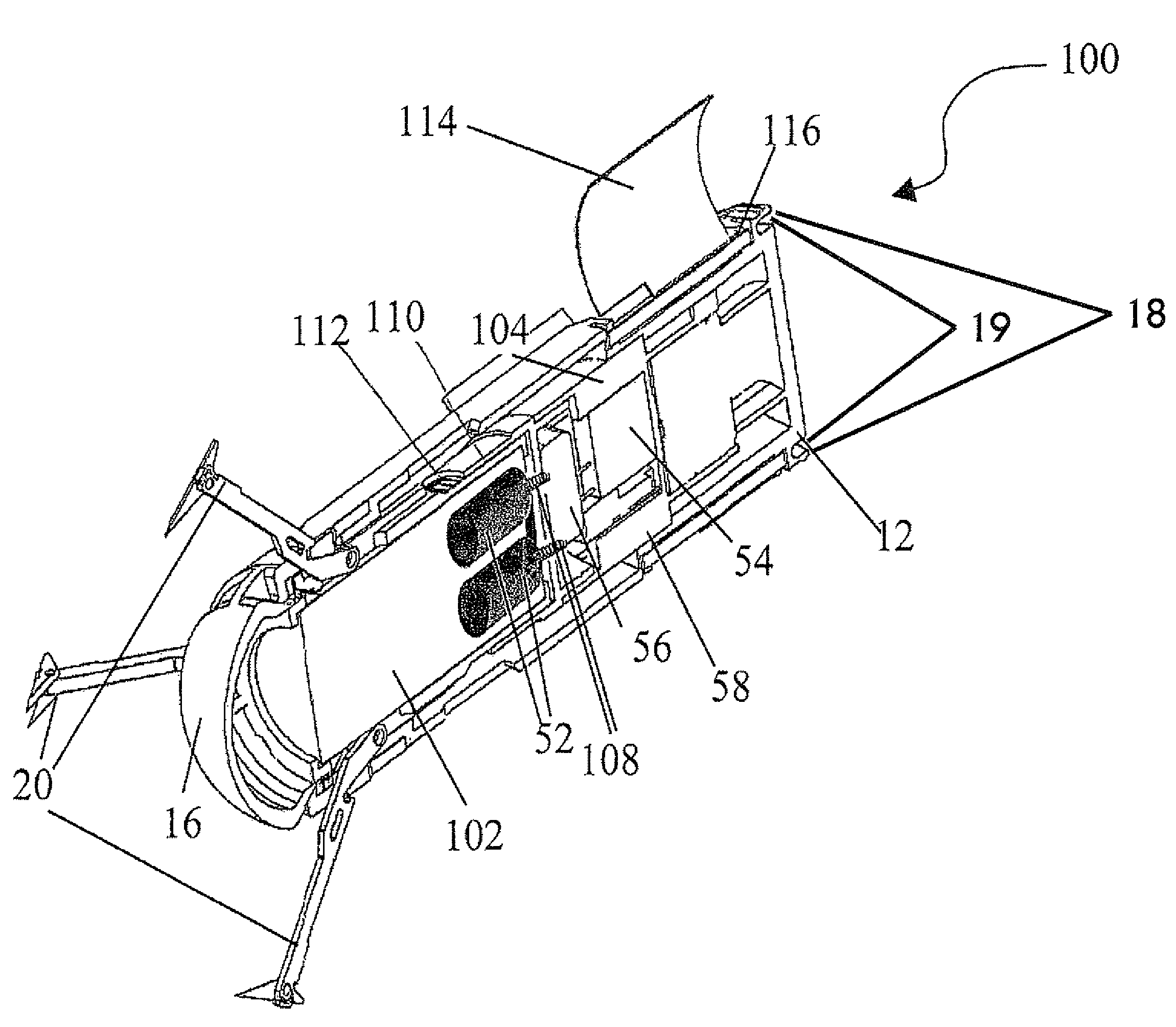 Brevet Us8342098 Non Lethal Wireless Stun Projectile System For 3v Electronic Gun Circuit Patent Drawing
