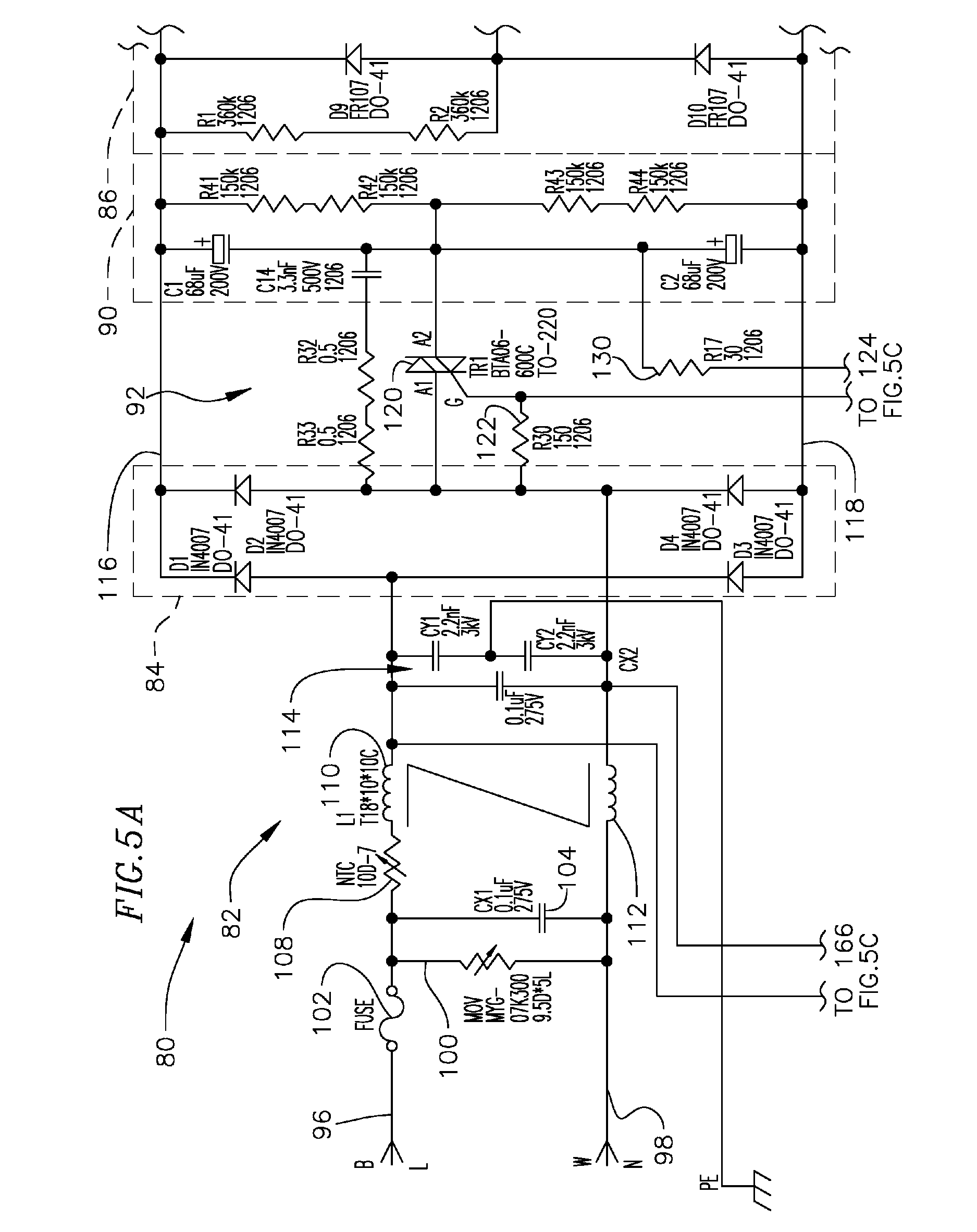 patent us8344646 multiple voltage ballast patents Bodine Ballast Wiring Diagram patent drawing