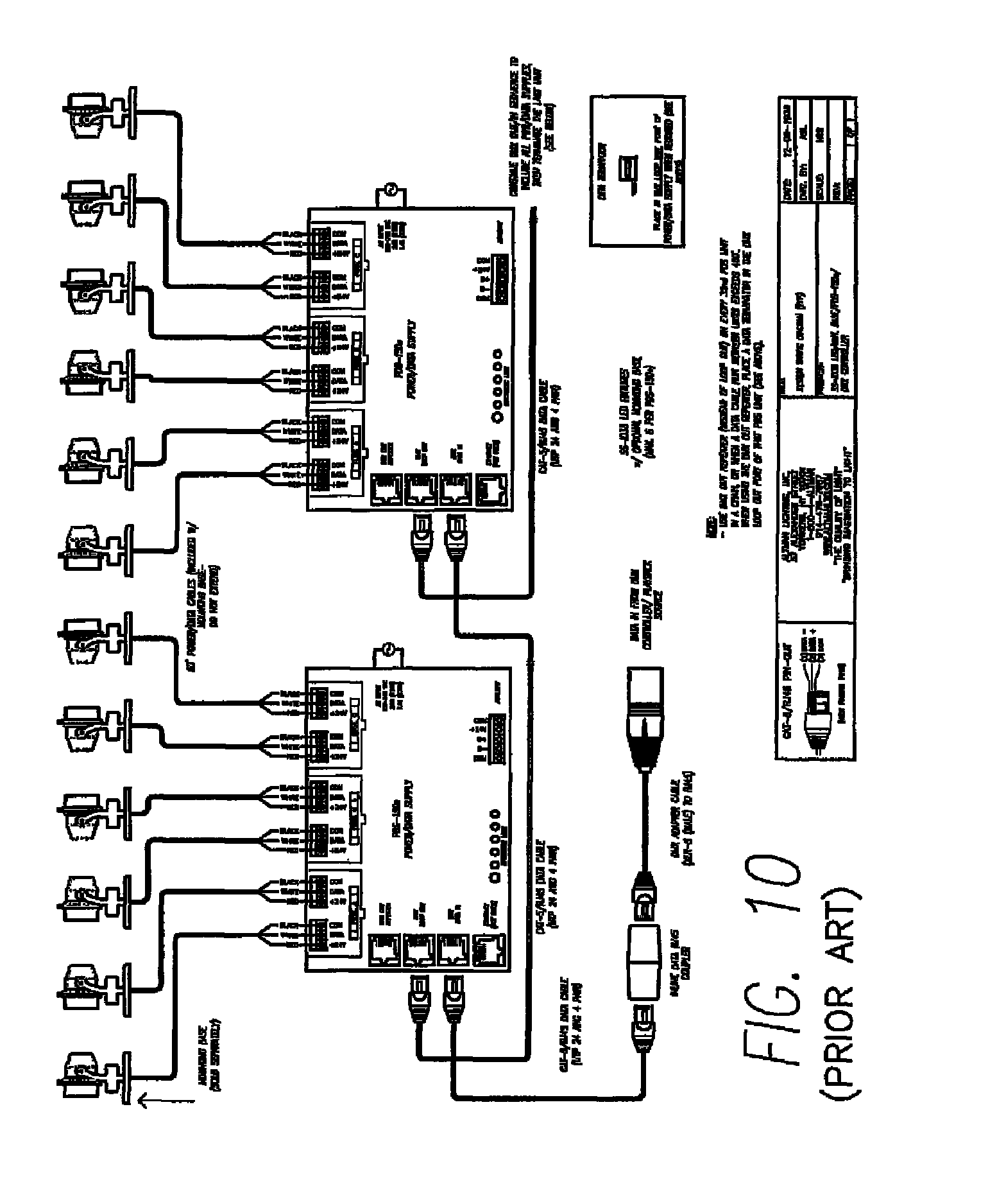 Field Controls Ck61 Wiring Diagram 34 Images Track Lighting Us08344655 20130101 D00009 Patent Us8344655 Power And Data System Google