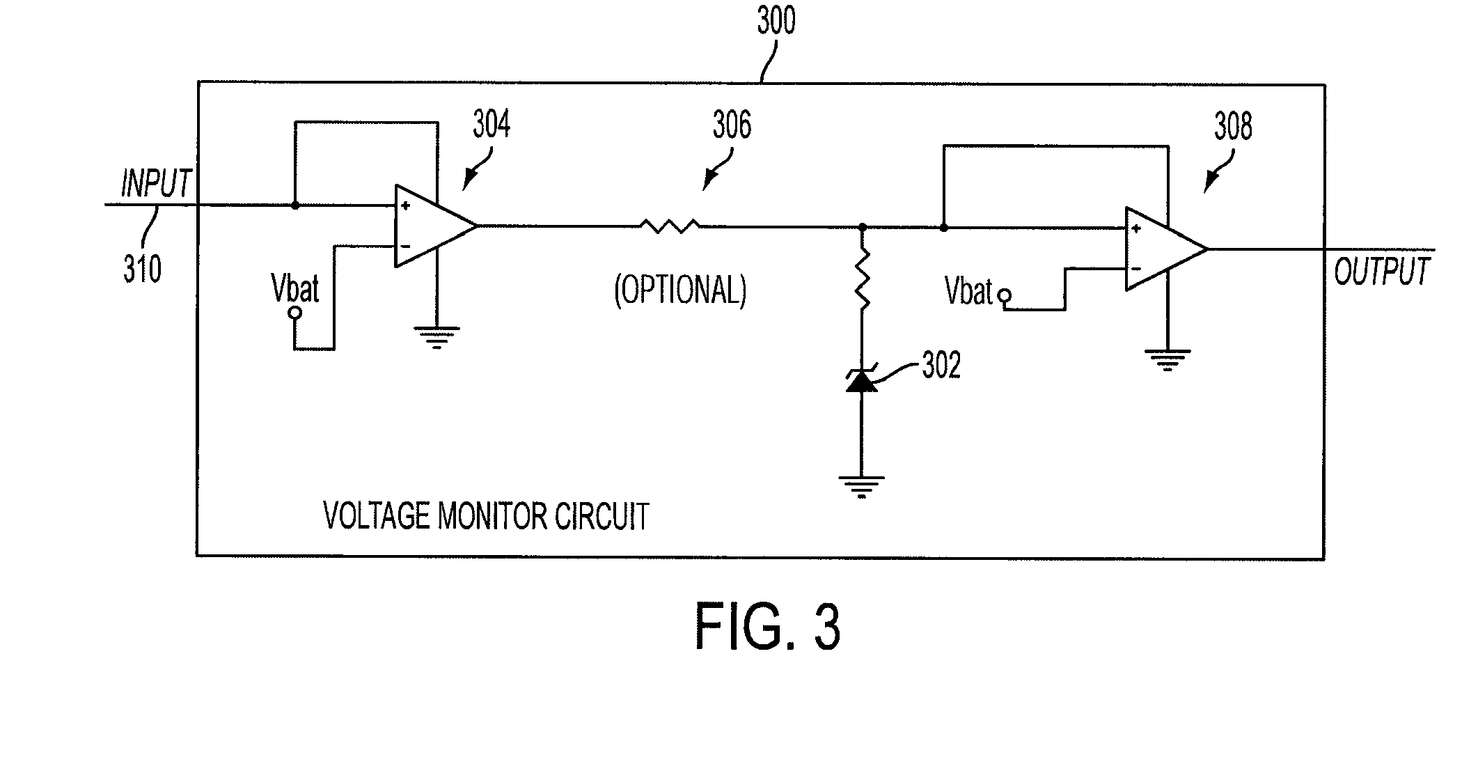 over voltage and under voltage control