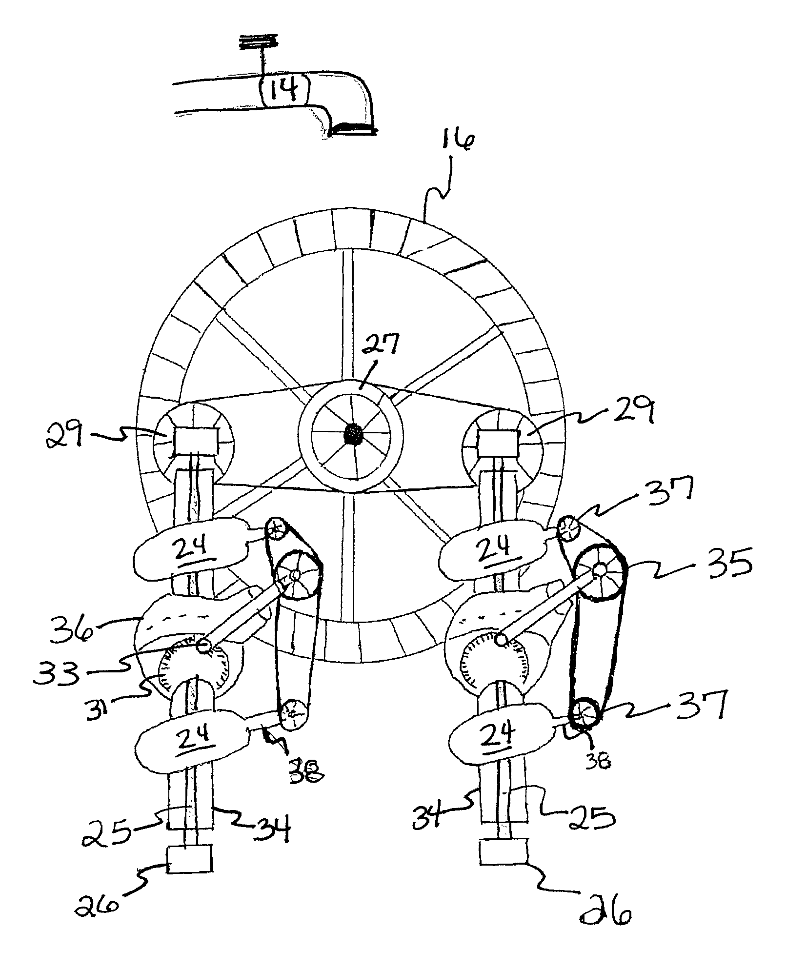 patent us8358022 hydroelectric power generator google patents