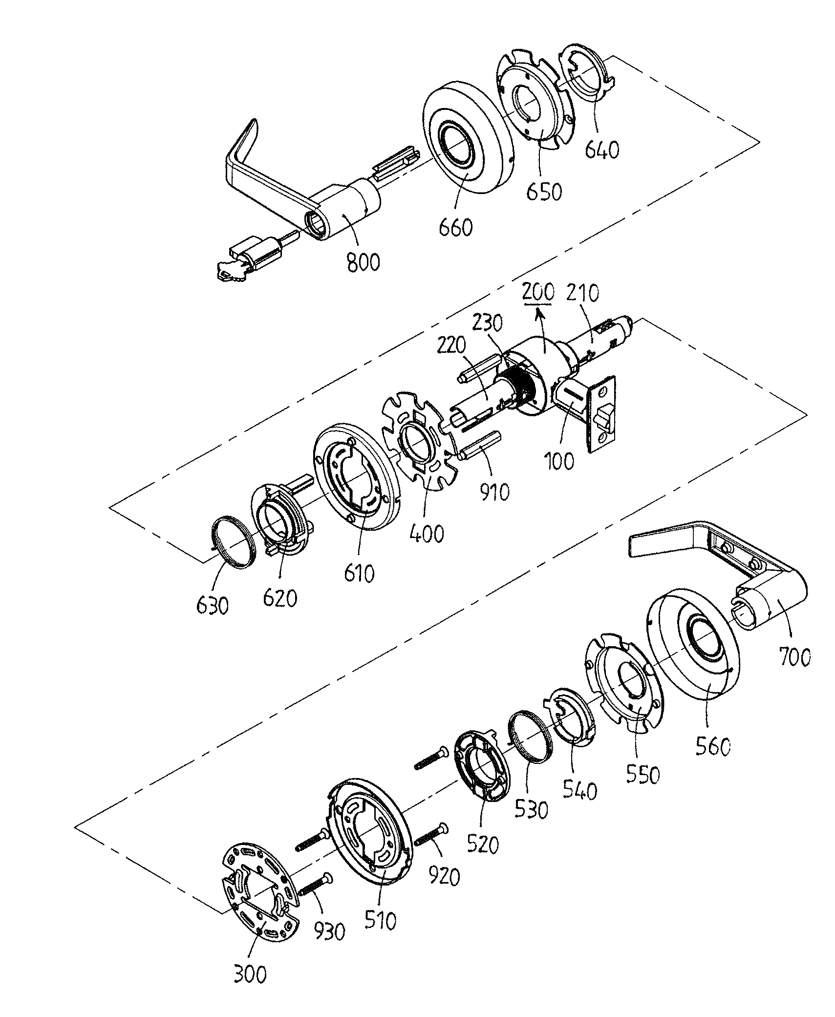 Patent Us8360489 Cylindrical Lever Lock Google Patents